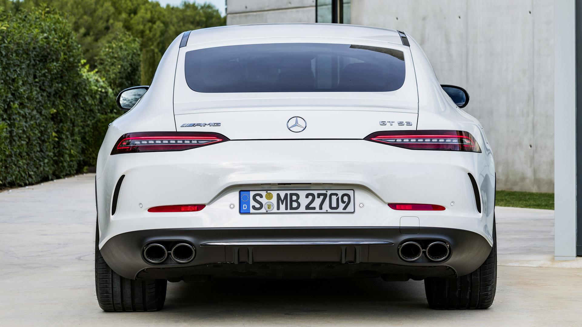 Mercedes-AMG GT 53 [4-door] (2018) Wallpapers and HD ...