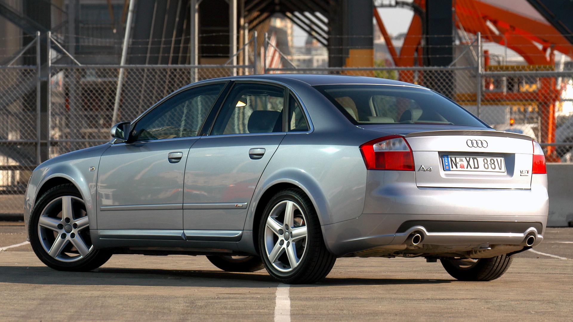 2001 Audi A4 Sedan S Line  Au