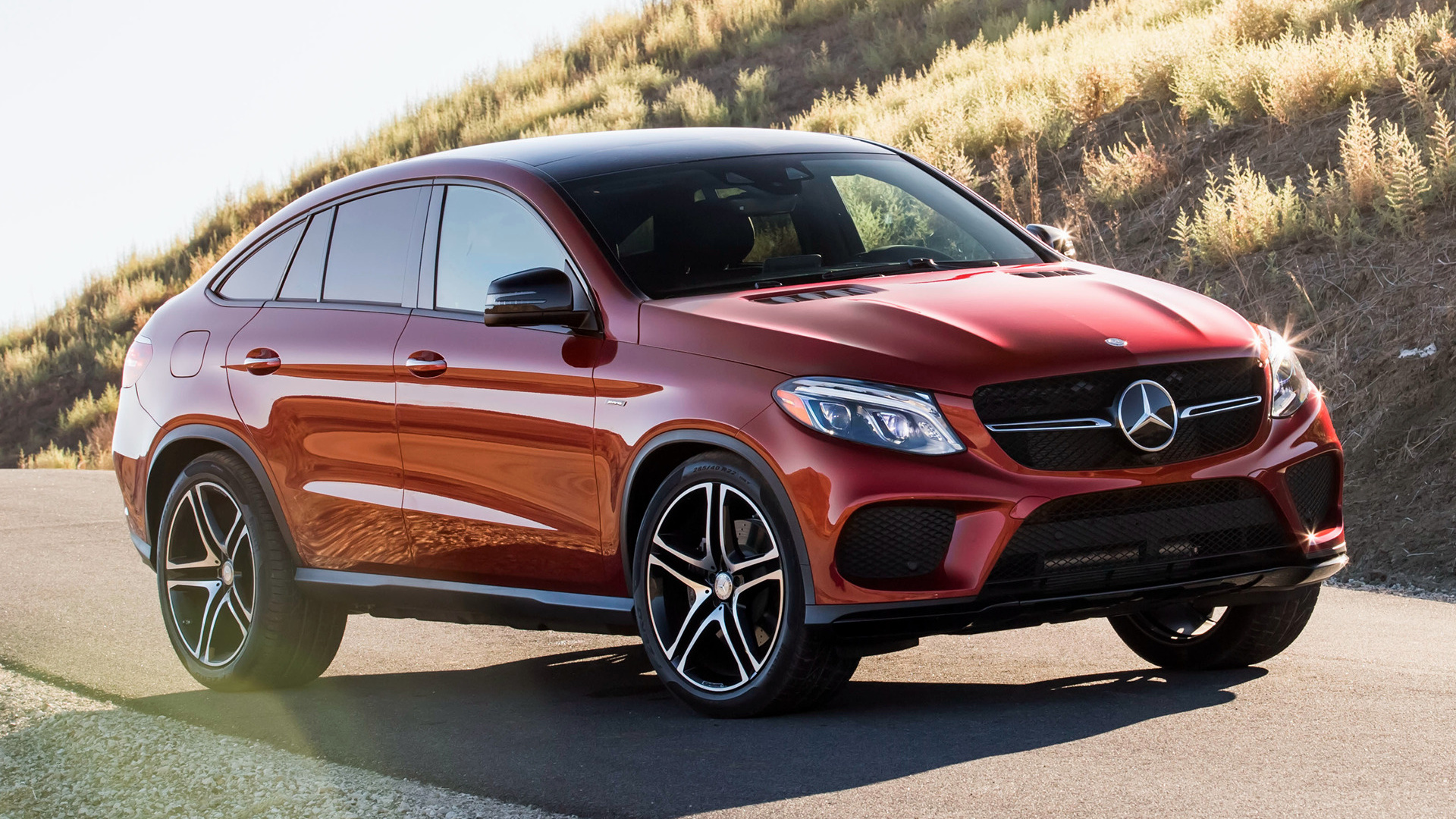 mercedes benz gle 450 amg coupe 2016 us wallpapers and hd images car pixel. Black Bedroom Furniture Sets. Home Design Ideas