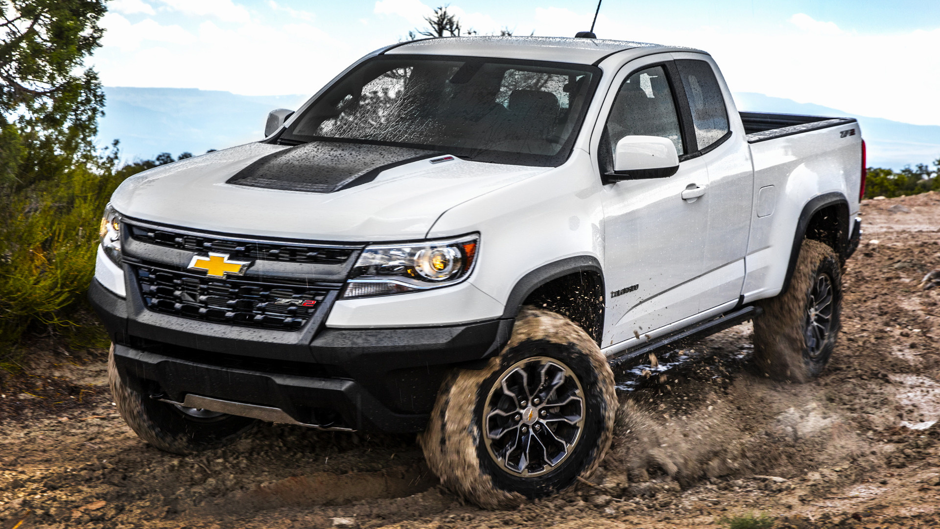 Chevy Trailblazer 2016 >> 2017 Chevrolet Colorado ZR2 Extended Cab - Wallpapers and ...