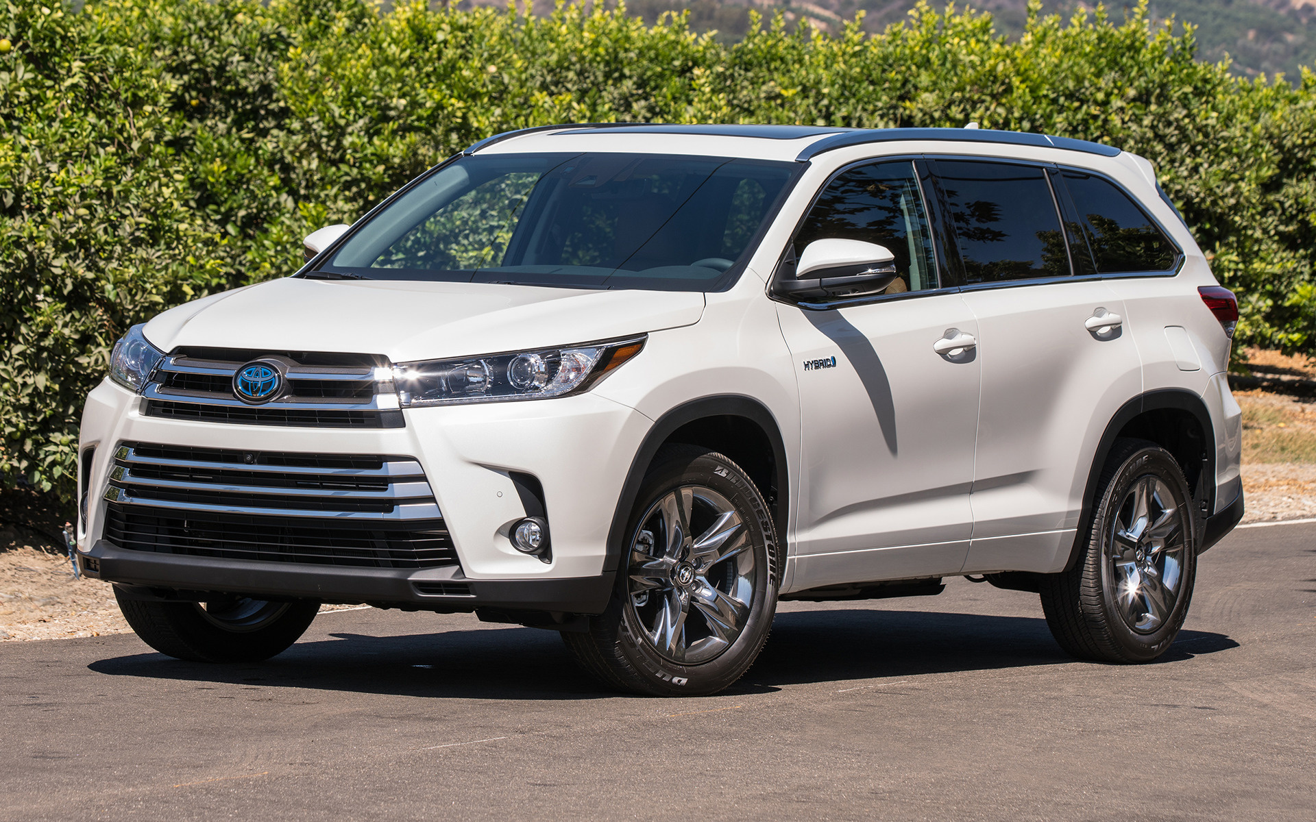 Toyota Highlander Limited >> 2017 Toyota Highlander Hybrid Limited - Wallpapers and HD ...