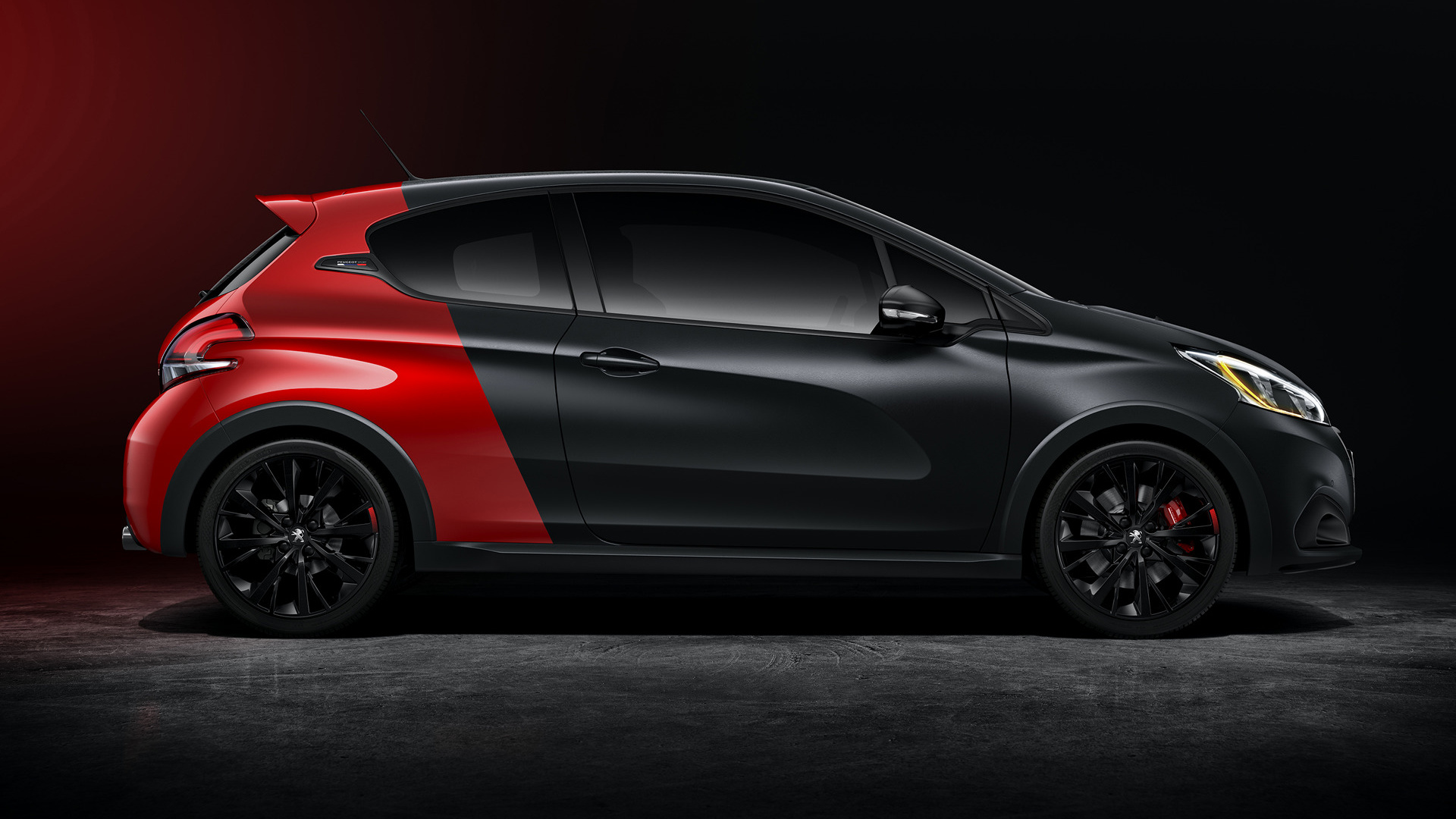 peugeot 208 gti by peugeot sport 2015 wallpapers and hd. Black Bedroom Furniture Sets. Home Design Ideas