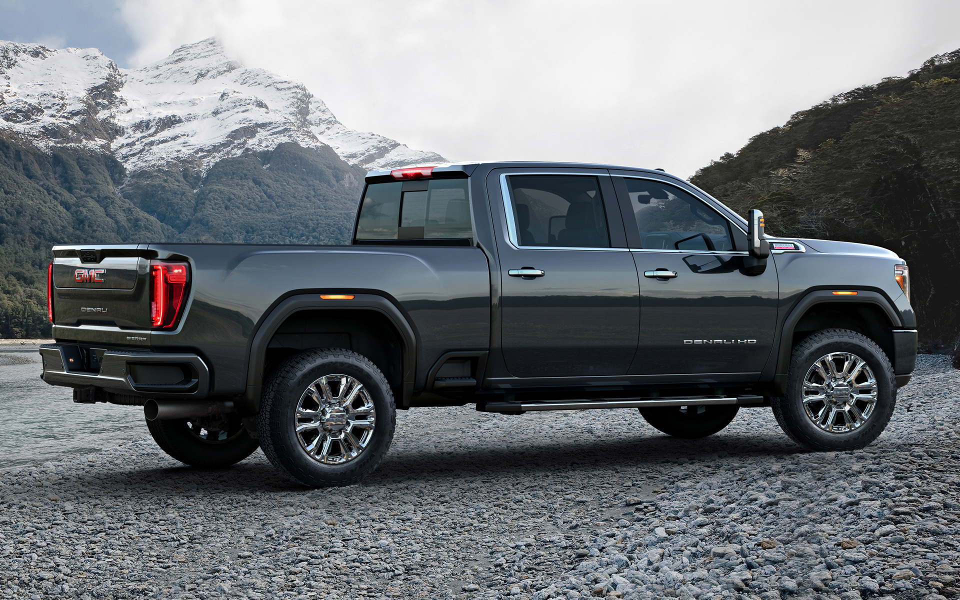2020 GMC Sierra 2500 HD Denali Crew Cab - Wallpapers and ...