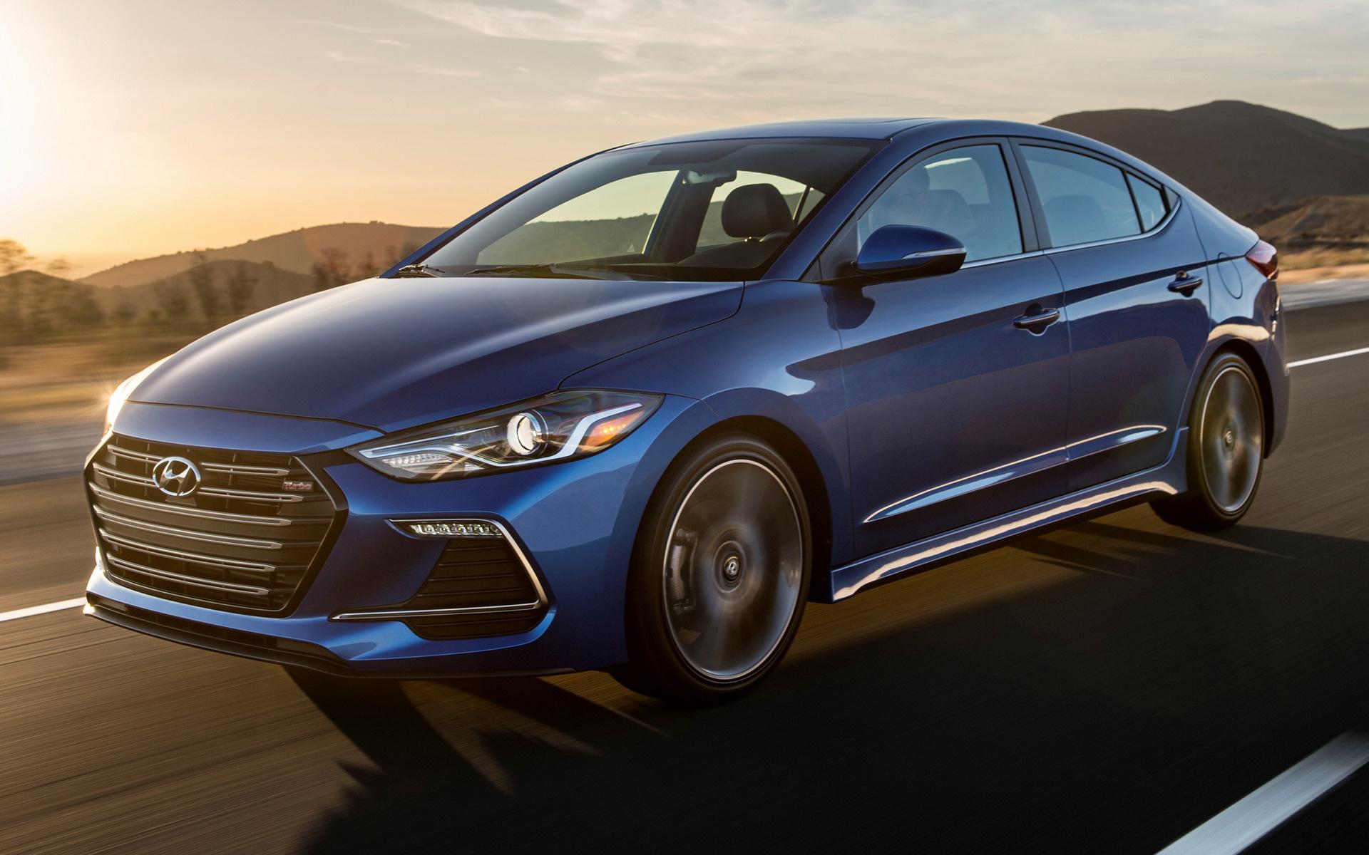 2017 Hyundai Elantra Limited >> Hyundai Elantra Sport (2017) US Wallpapers and HD Images - Car Pixel