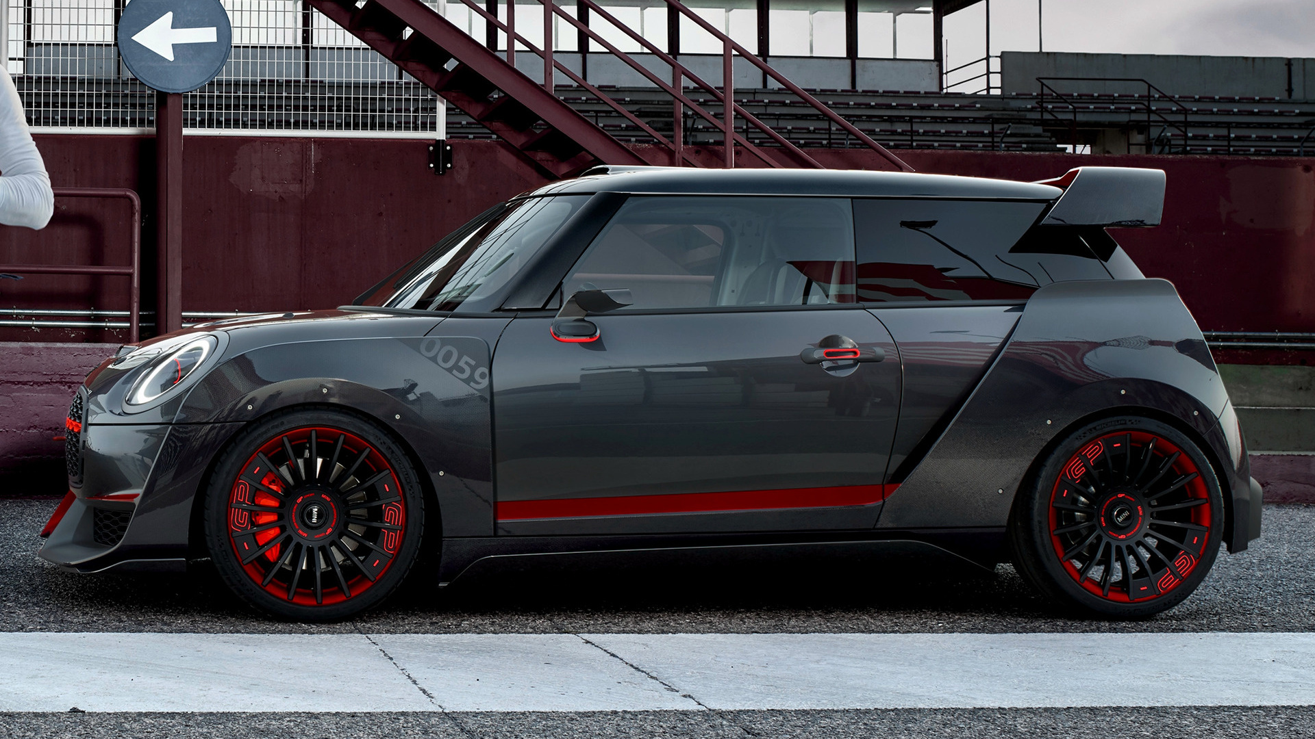 Mini John Cooper Works Gp Concept 2017 Wallpapers And Hd