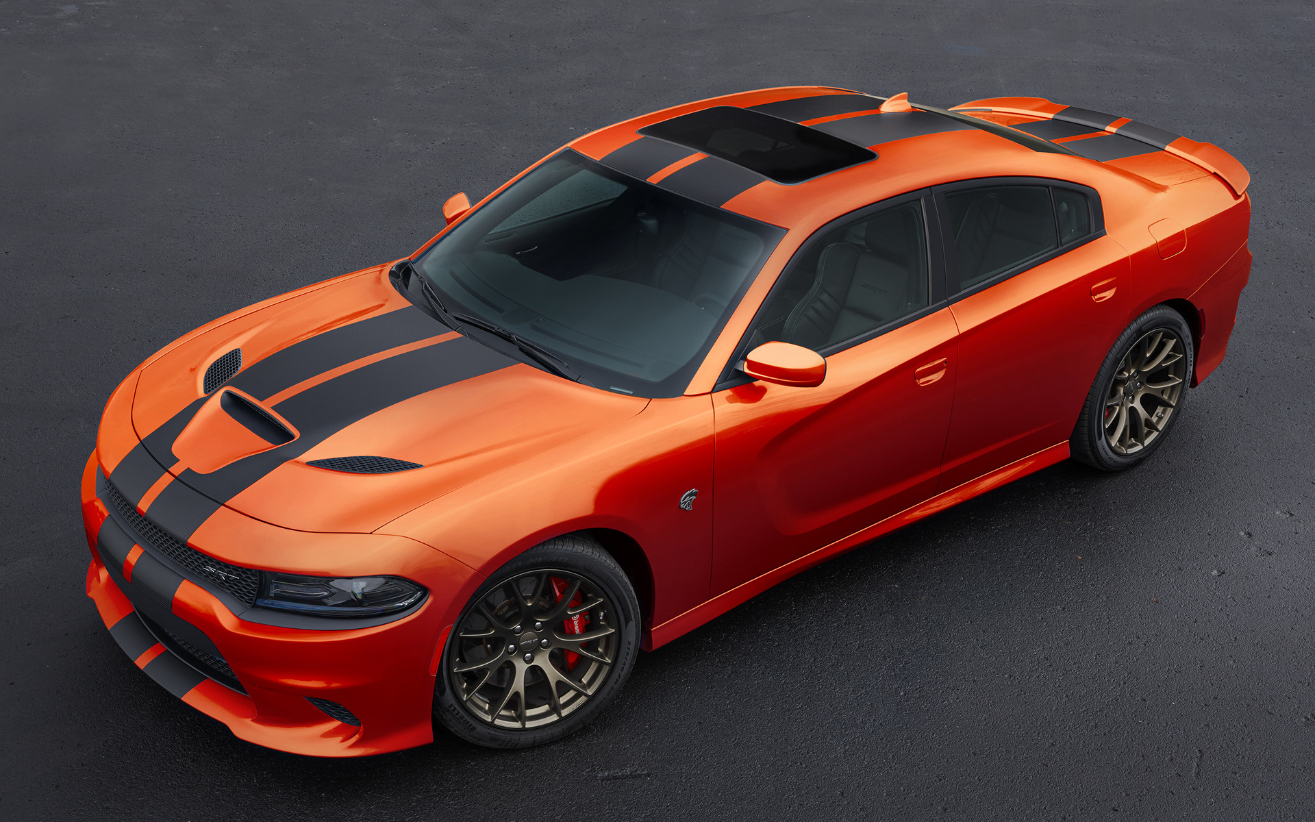 2016 Dodge Charger SRT Hellcat Go Mango - Wallpapers and ...