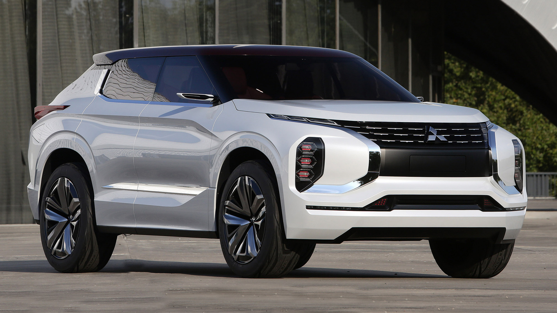 Elegant Mitsubishi GTPHEV Concept 2016 Wallpapers And HD Images