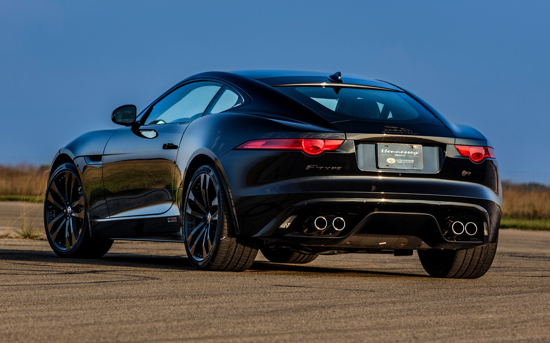 Acura Type R >> 2015 Jaguar F-Type R Coupe HPE600 by Hennessey - Wallpapers and HD Images | Car Pixel