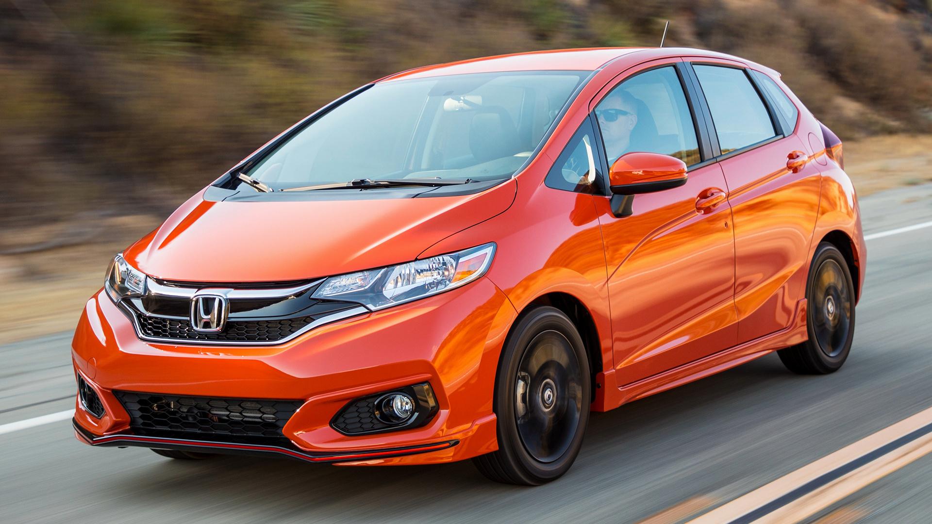 2018 Honda Fit Sport - Wallpapers and HD Images | Car Pixel