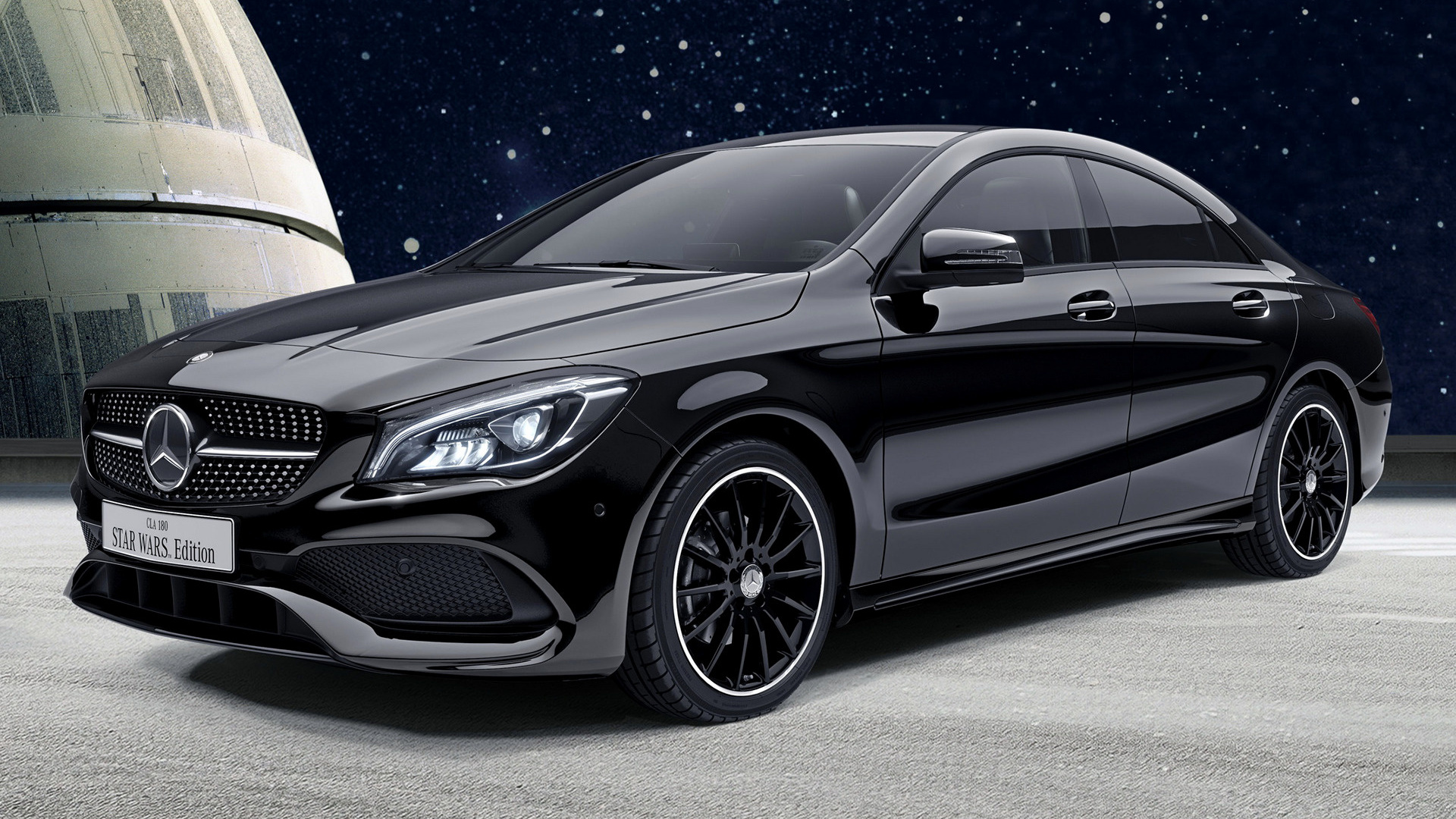 mercedes benz cla class star wars edition 2017 jp wallpapers and hd images car pixel. Black Bedroom Furniture Sets. Home Design Ideas