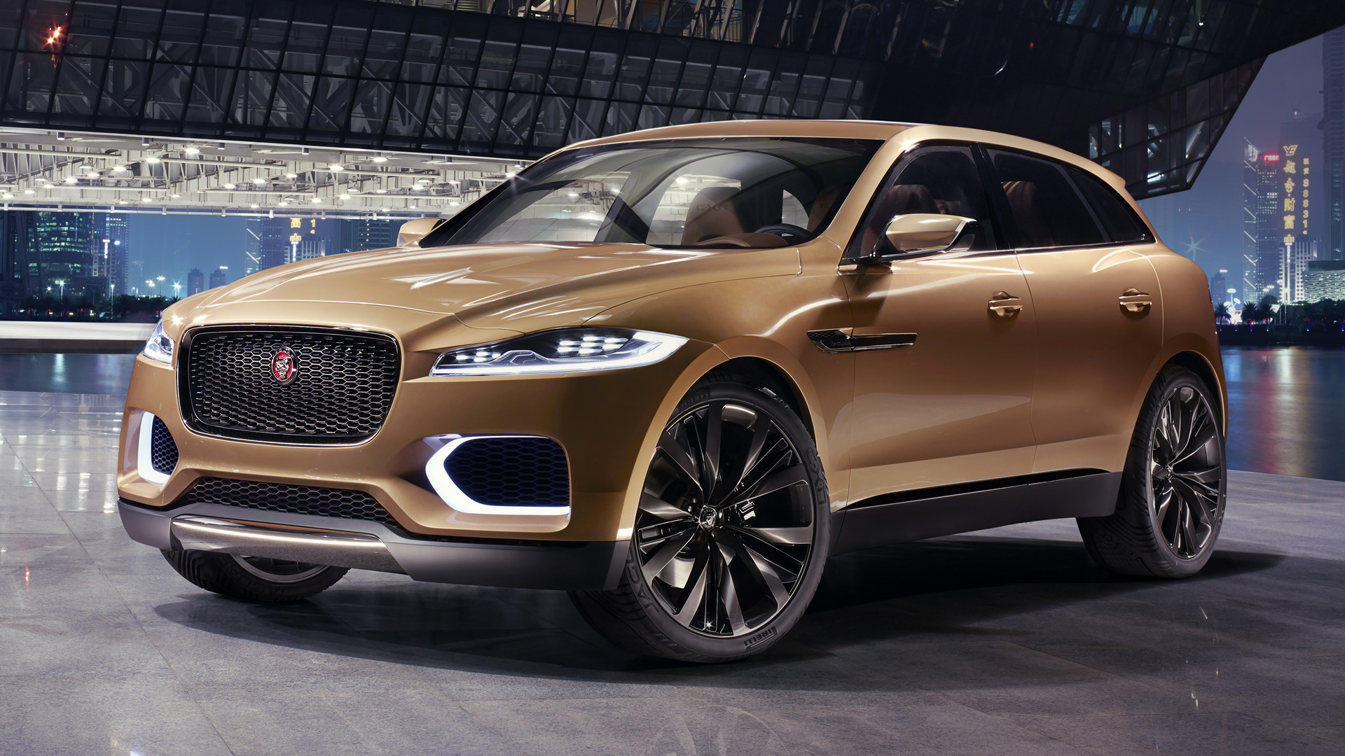 2013 Jaguar C-X17 5-Seater Concept - Wallpapers and HD ...