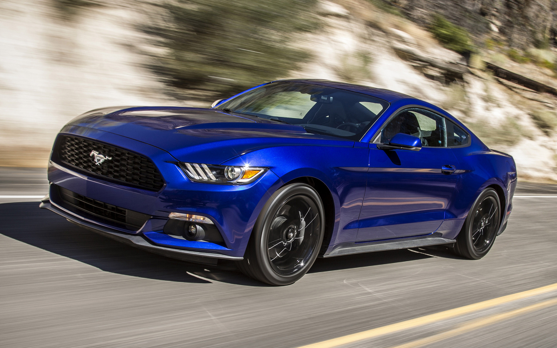 ford mustang ecoboost 2015 wallpapers and hd images car pixel. Black Bedroom Furniture Sets. Home Design Ideas