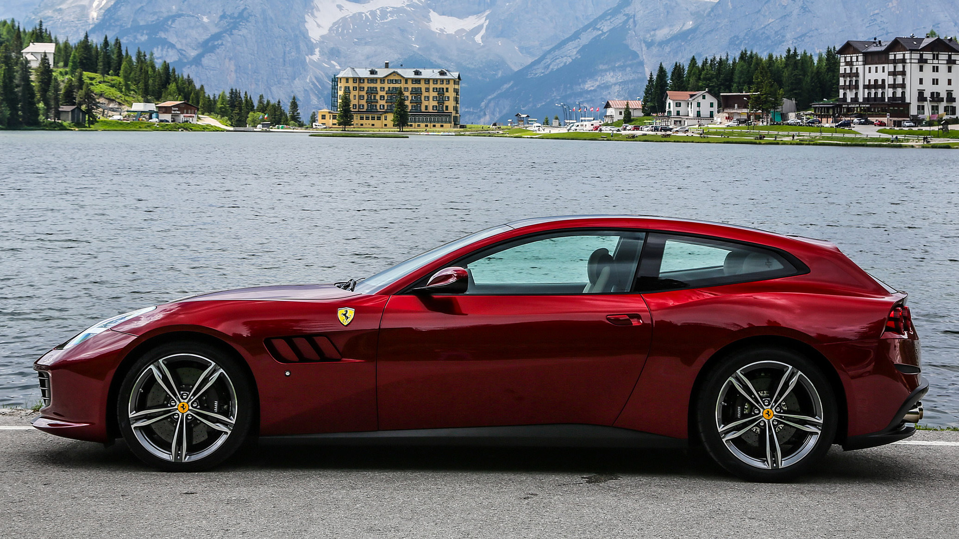 ferrari gtc4lusso (2016) wallpapers and hd images - car pixel