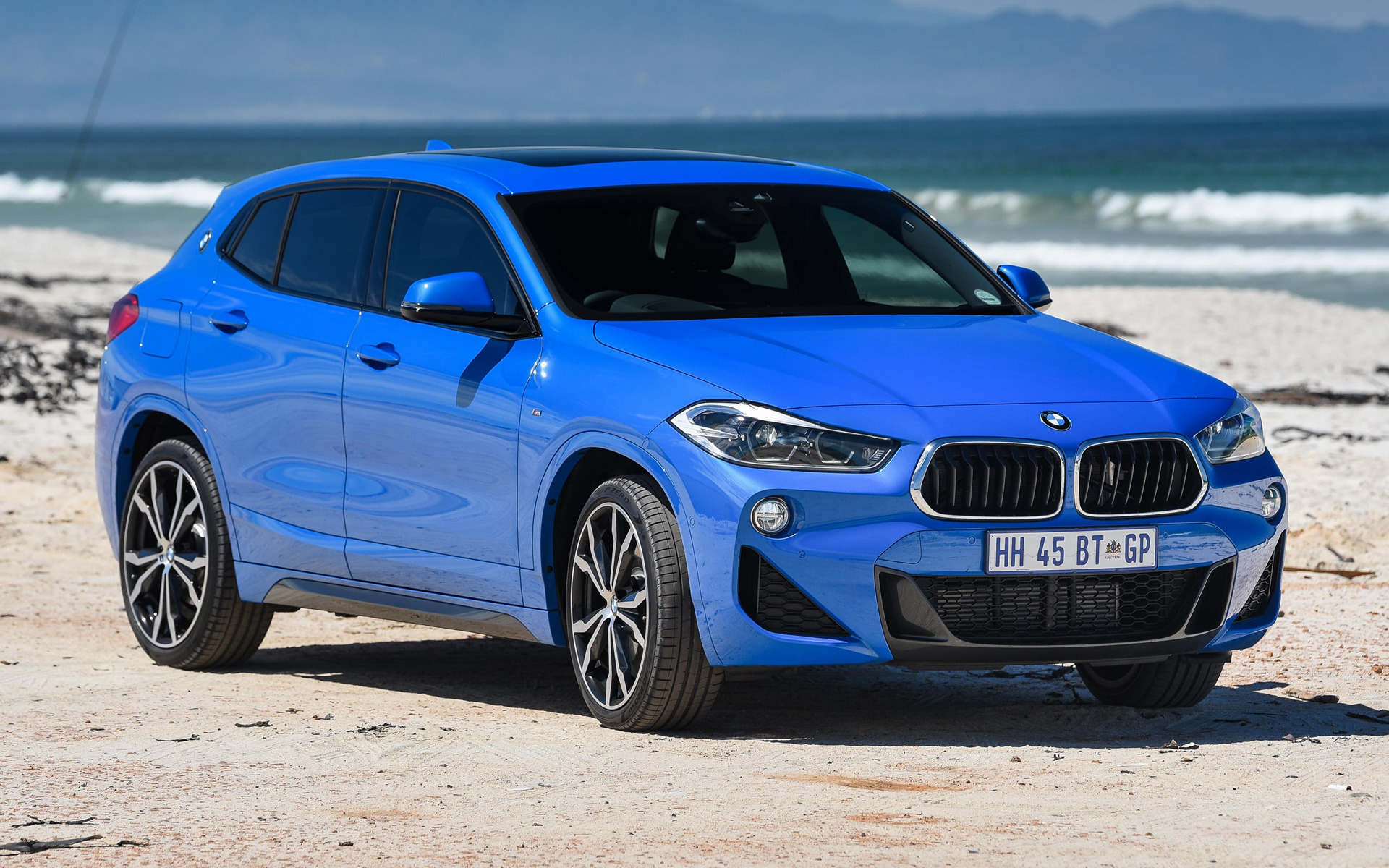 bmw x2 m sport 2018 za wallpapers and hd images car pixel. Black Bedroom Furniture Sets. Home Design Ideas