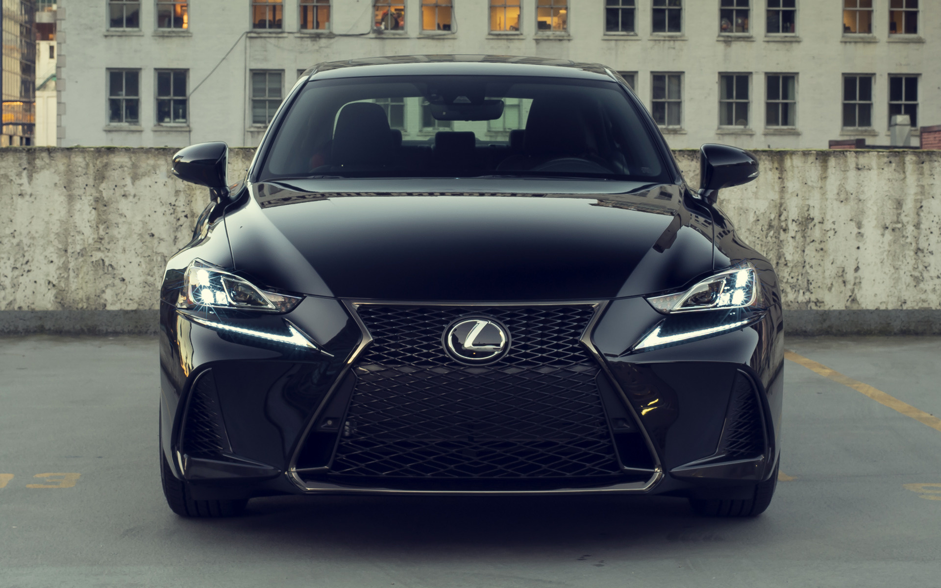 2019 Lexus Is F Sport Black Line Us Wallpapers And Hd