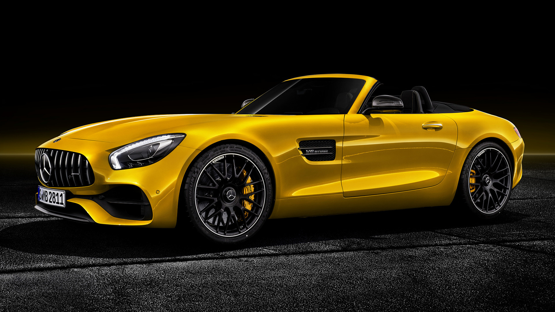 2018 Mercedes-AMG GT S Roadster - Wallpapers and HD Images ...