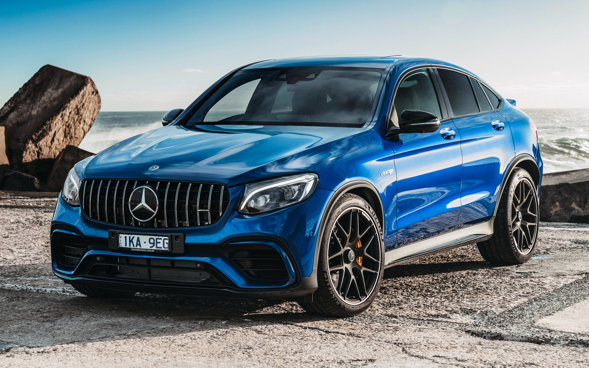 2018 Mercedes Amg Glc 63 S Coupe Au Wallpapers And Hd Images Car Pixel