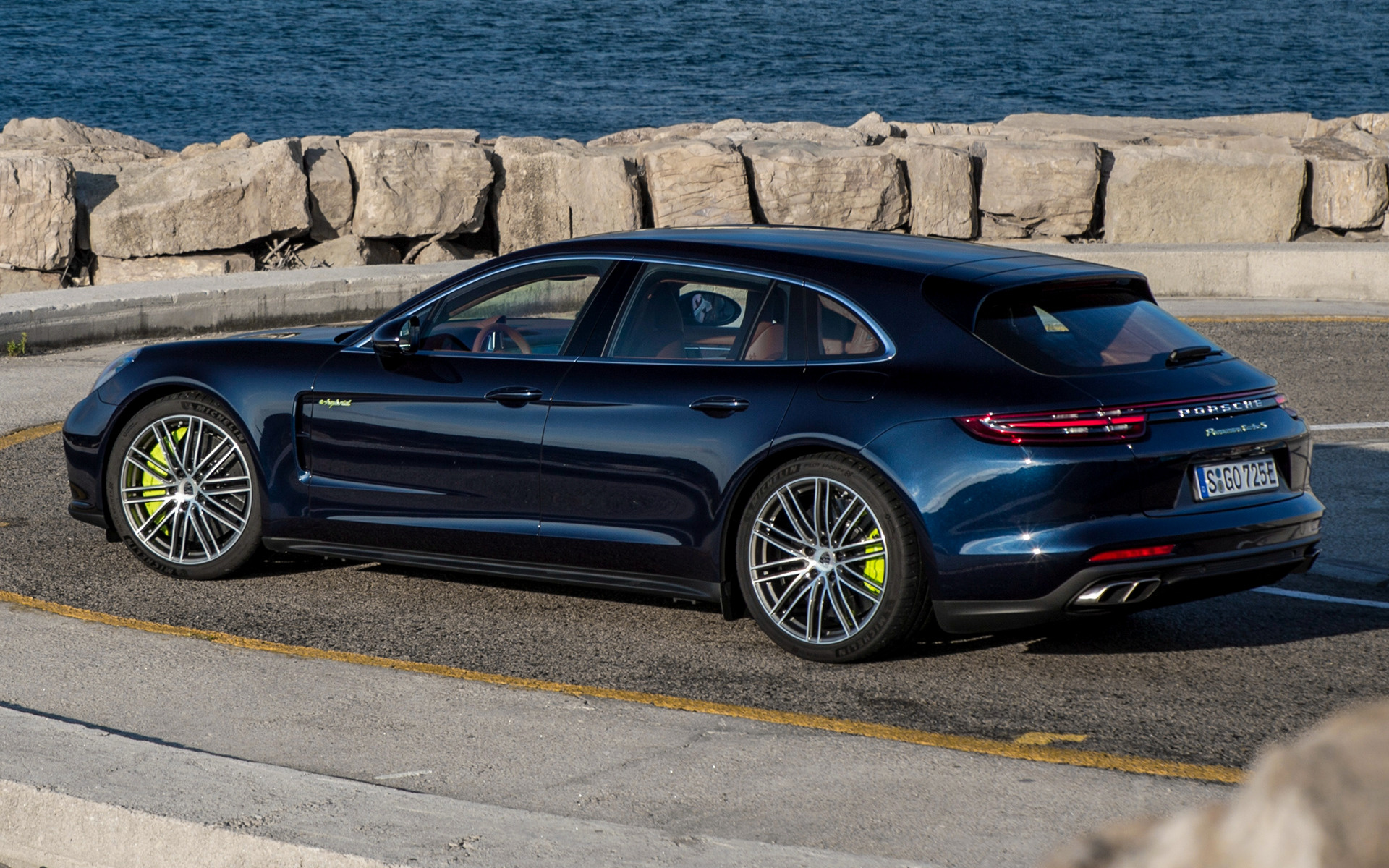 porsche panamera turbo   hybrid sport turismo wallpapers  hd images car pixel
