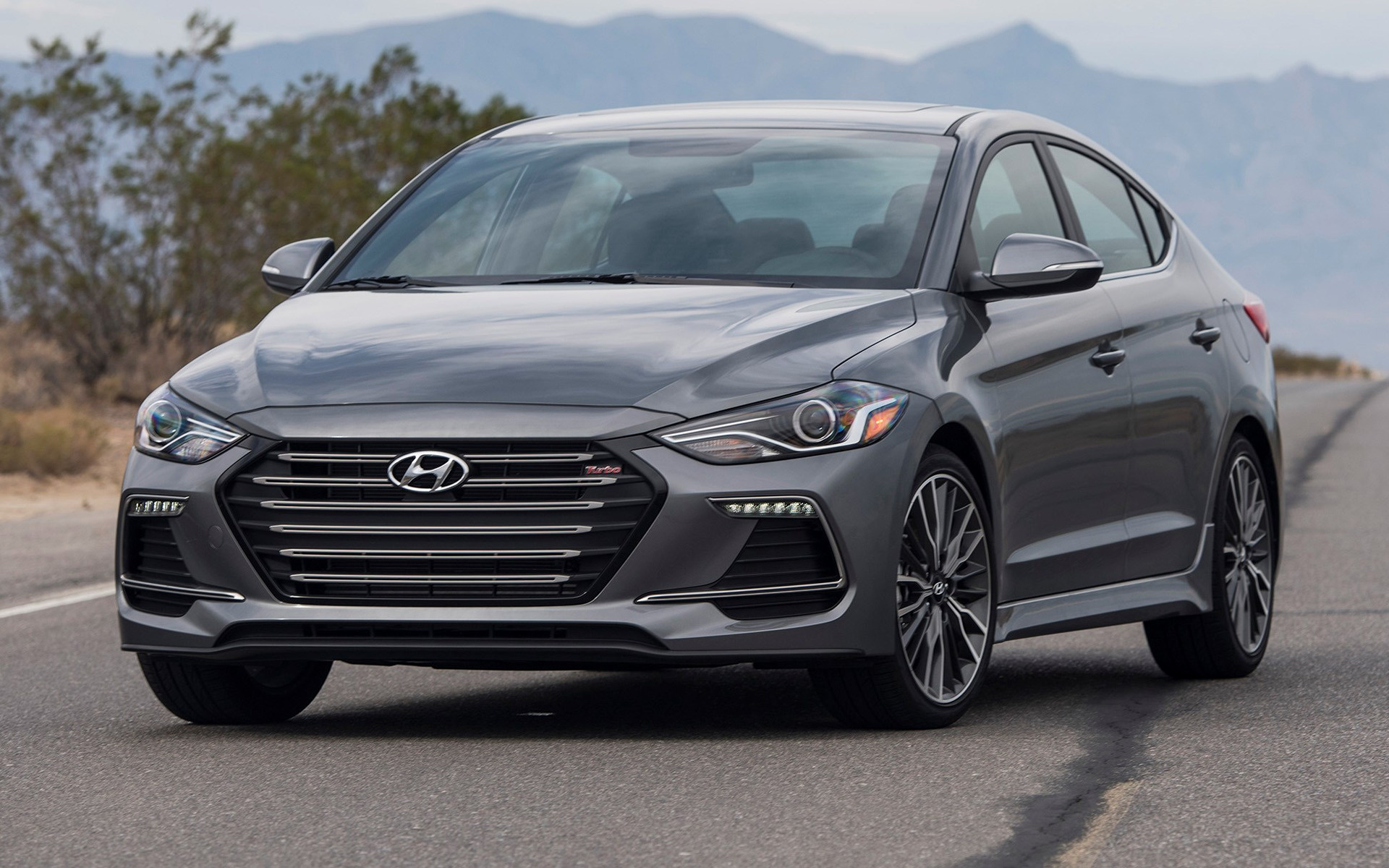 Land Rover Sport 2017 >> 2017 Hyundai Elantra Sport (US) - Wallpapers and HD Images | Car Pixel