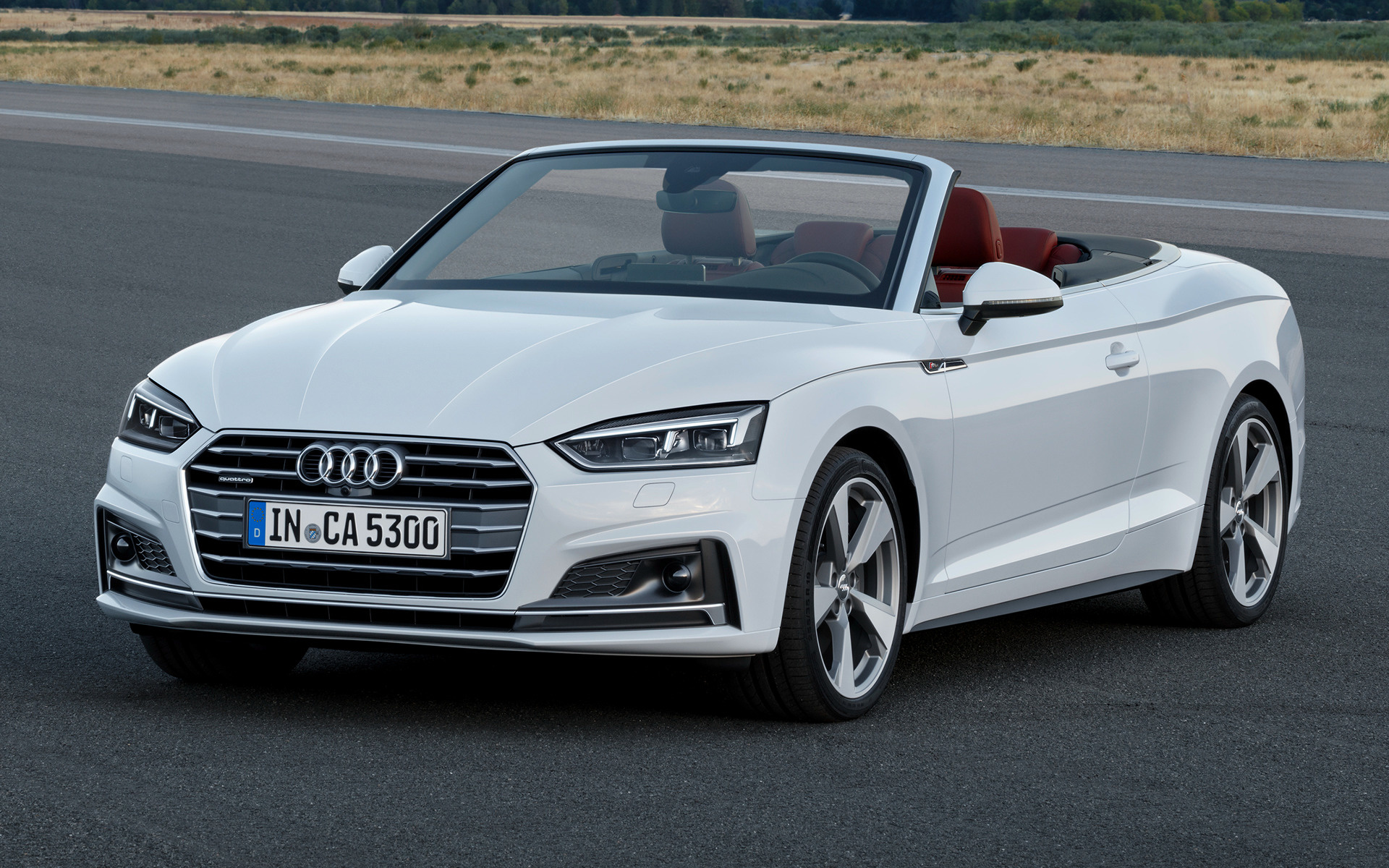 audi a5 cabriolet s line 2017 wallpapers and hd images car pixel. Black Bedroom Furniture Sets. Home Design Ideas