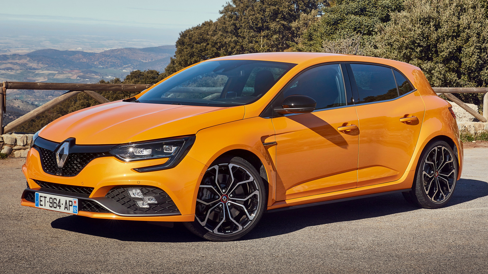 2018 Renault Megane Rs Wallpapers And Hd Images Car Pixel Hd wallpaper renault megane orange car