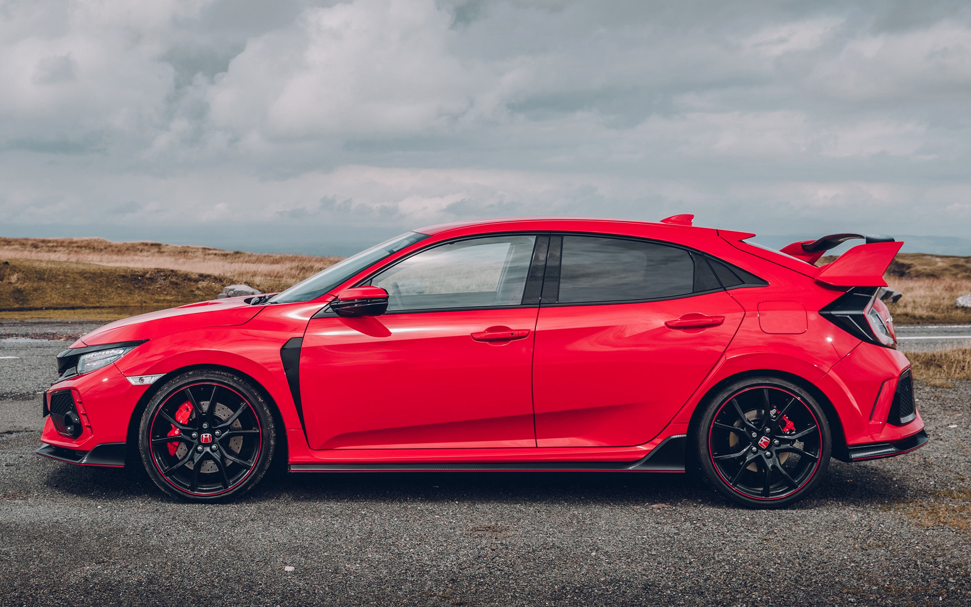 Honda Civic Type R Car Wallpaper on Honda Type R