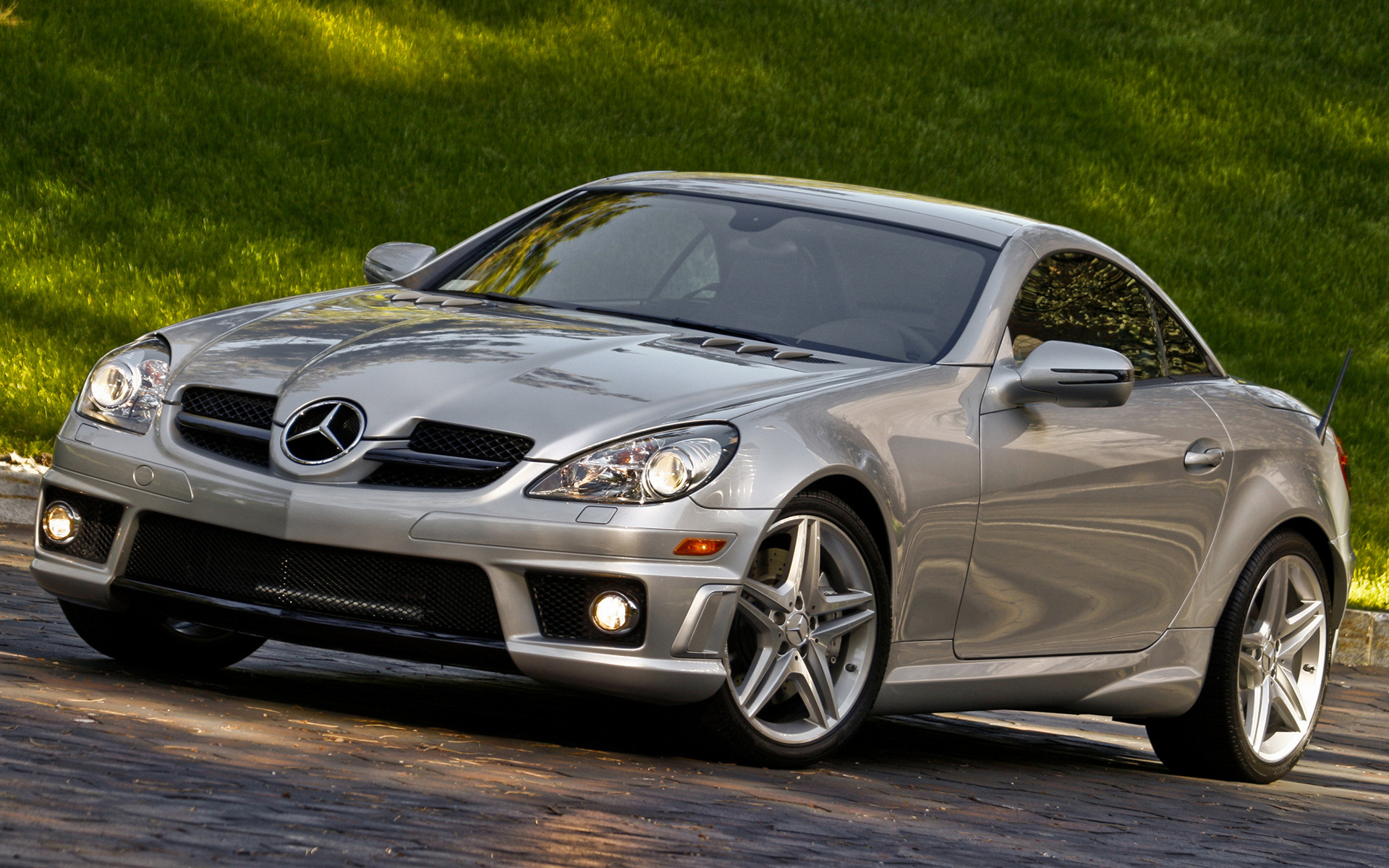 2008 mercedes benz slk 55 amg us wallpapers and hd. Black Bedroom Furniture Sets. Home Design Ideas
