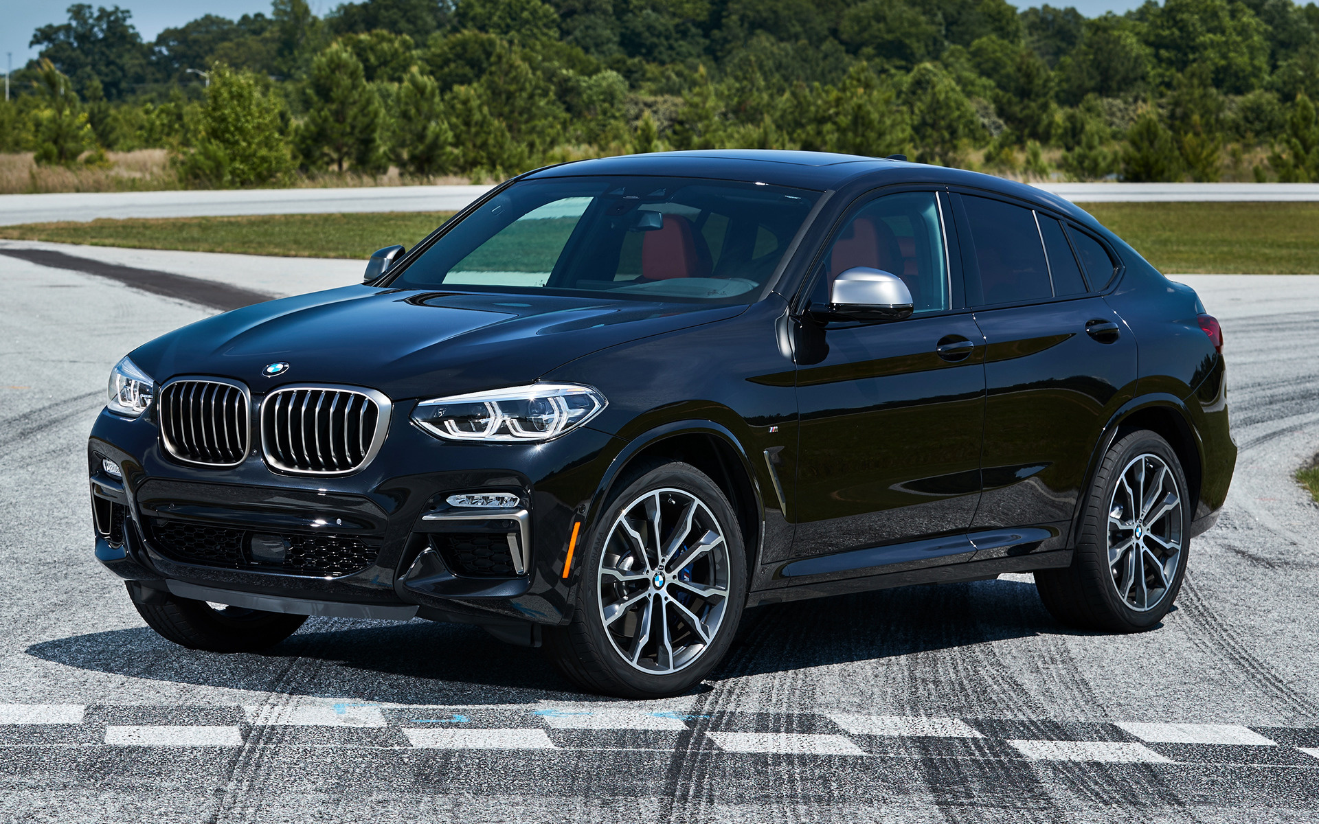 2019 Bmw X4 M40i Us Wallpapers And Hd Images Car Pixel