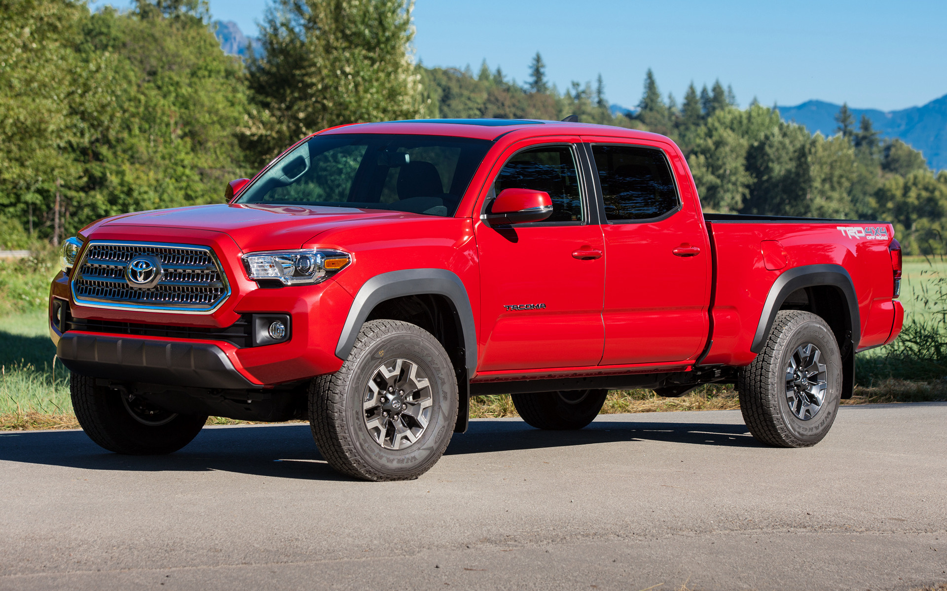 toyota tacoma trd off road double cab 2016 wallpapers and hd images car pixel. Black Bedroom Furniture Sets. Home Design Ideas