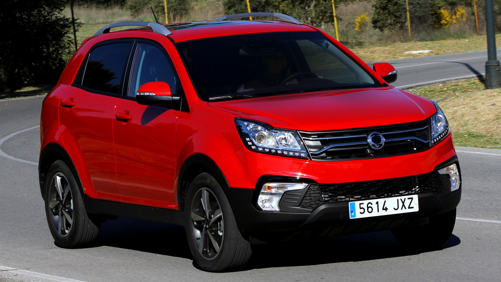 ssangyong korando 2017 wallpapers and hd images car pixel. Black Bedroom Furniture Sets. Home Design Ideas