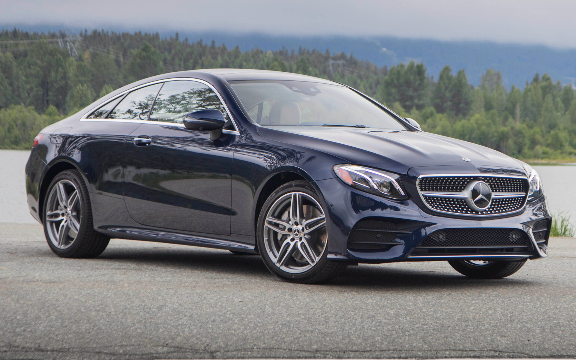 Nissan Sports Car >> 2018 Mercedes-Benz E-Class Coupe AMG Styling (US) - Wallpapers and HD Images | Car Pixel