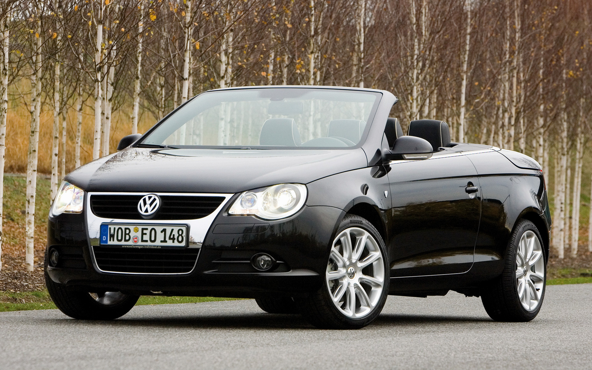 volkswagen eos individual 2007 wallpapers and hd images. Black Bedroom Furniture Sets. Home Design Ideas