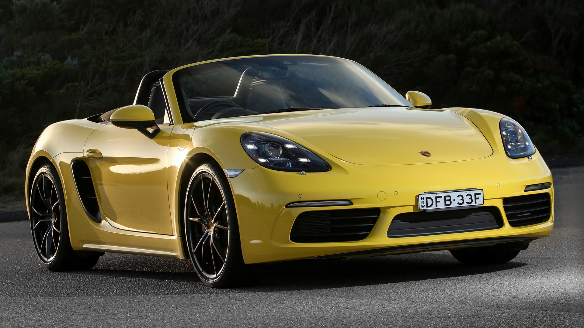 porsche 718 boxster s 2016 au wallpapers and hd images. Black Bedroom Furniture Sets. Home Design Ideas