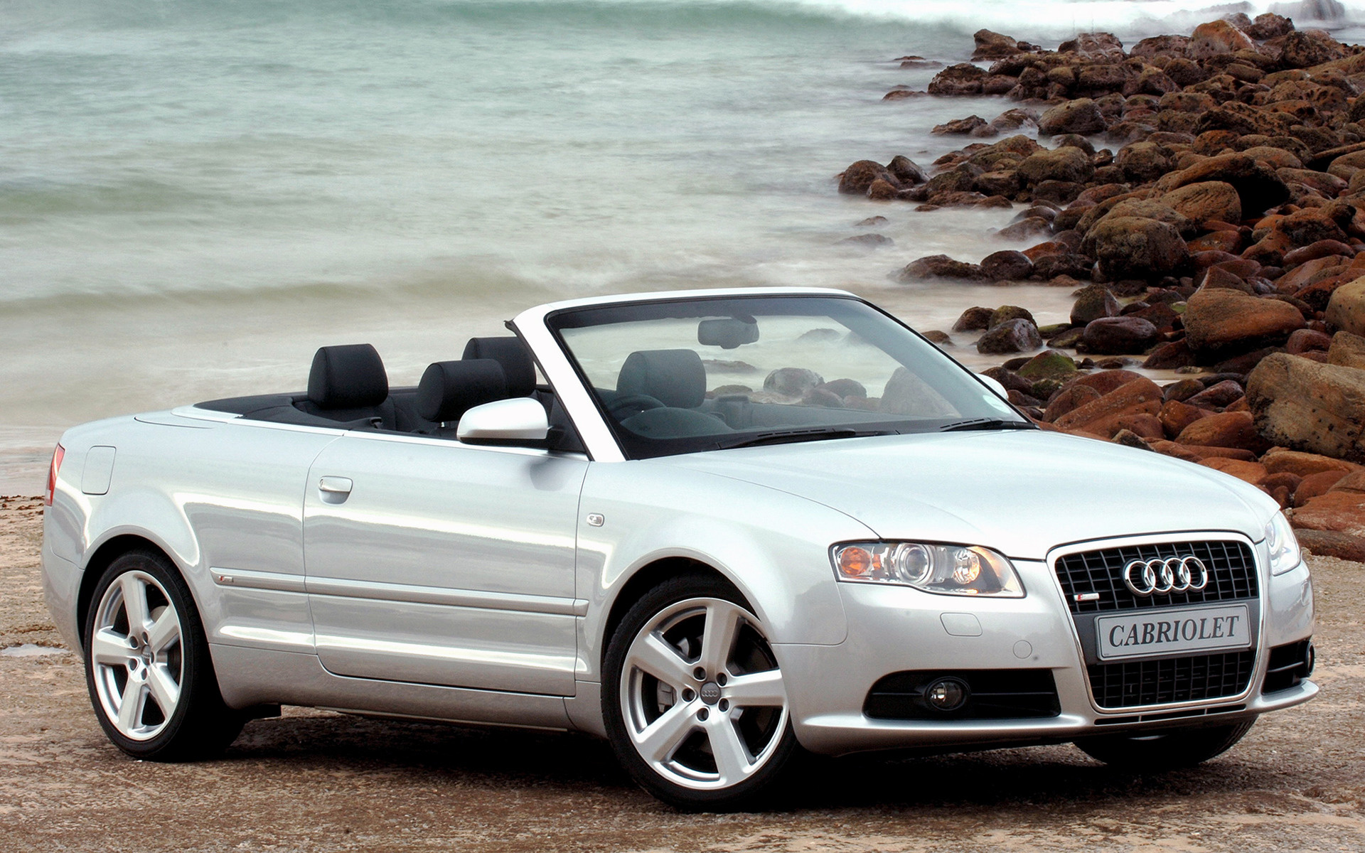 2005 Audi A4 Cabriolet S line (ZA) - Wallpapers and HD ...