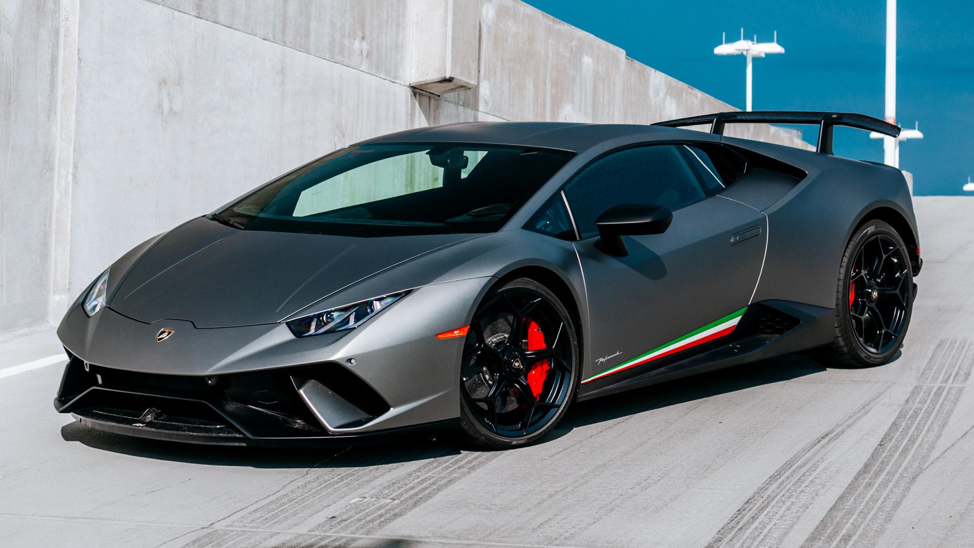 2018 Lamborghini Huracan Performante >> 2017 Lamborghini Huracan Performante (US) - Wallpapers and ...