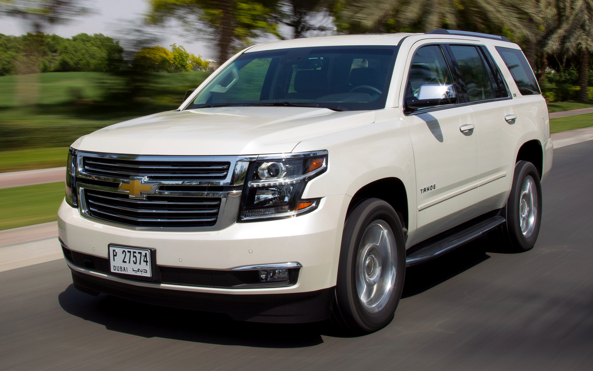 2015 Chevrolet Tahoe Ltz Wallpapers And Hd Images Car Pixel