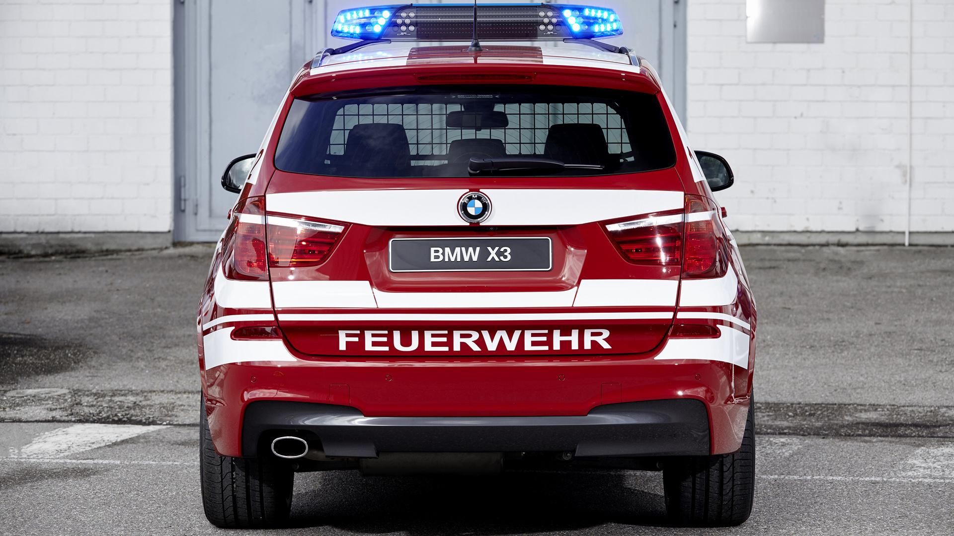 2016 Bmw X3 M Sport Feuerwehr