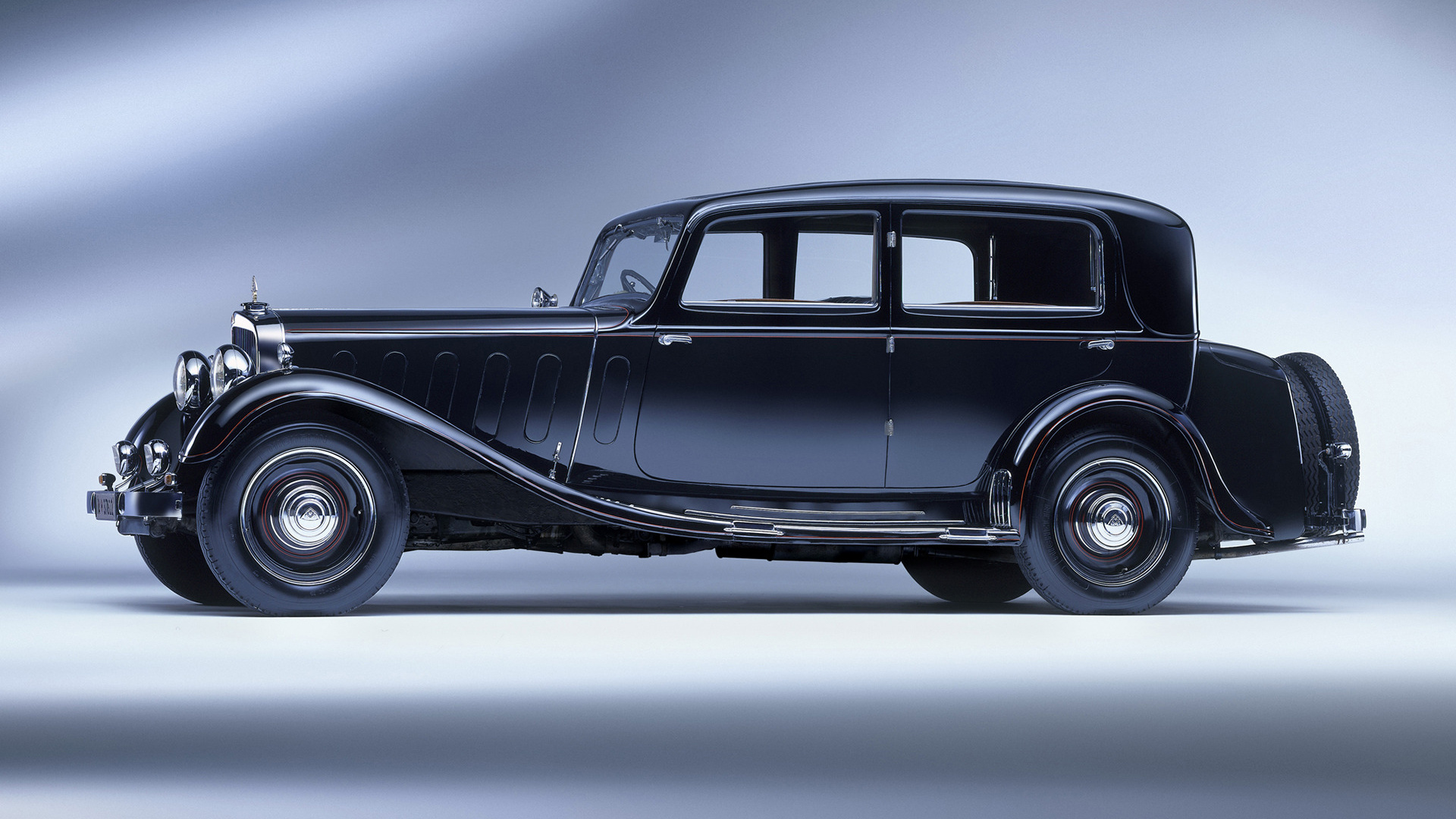 1928 Maybach Zeppelin DS7 Luxury Limousine Wallpapers