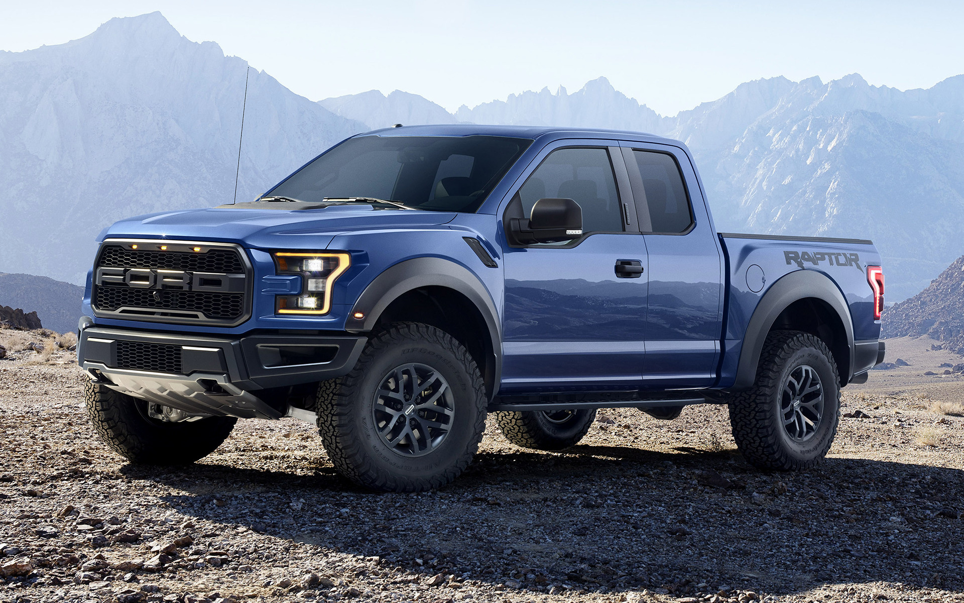 2017 Ford F150 Lifted >> 2017 Ford F-150 Raptor SuperCab - Wallpapers and HD Images | Car Pixel