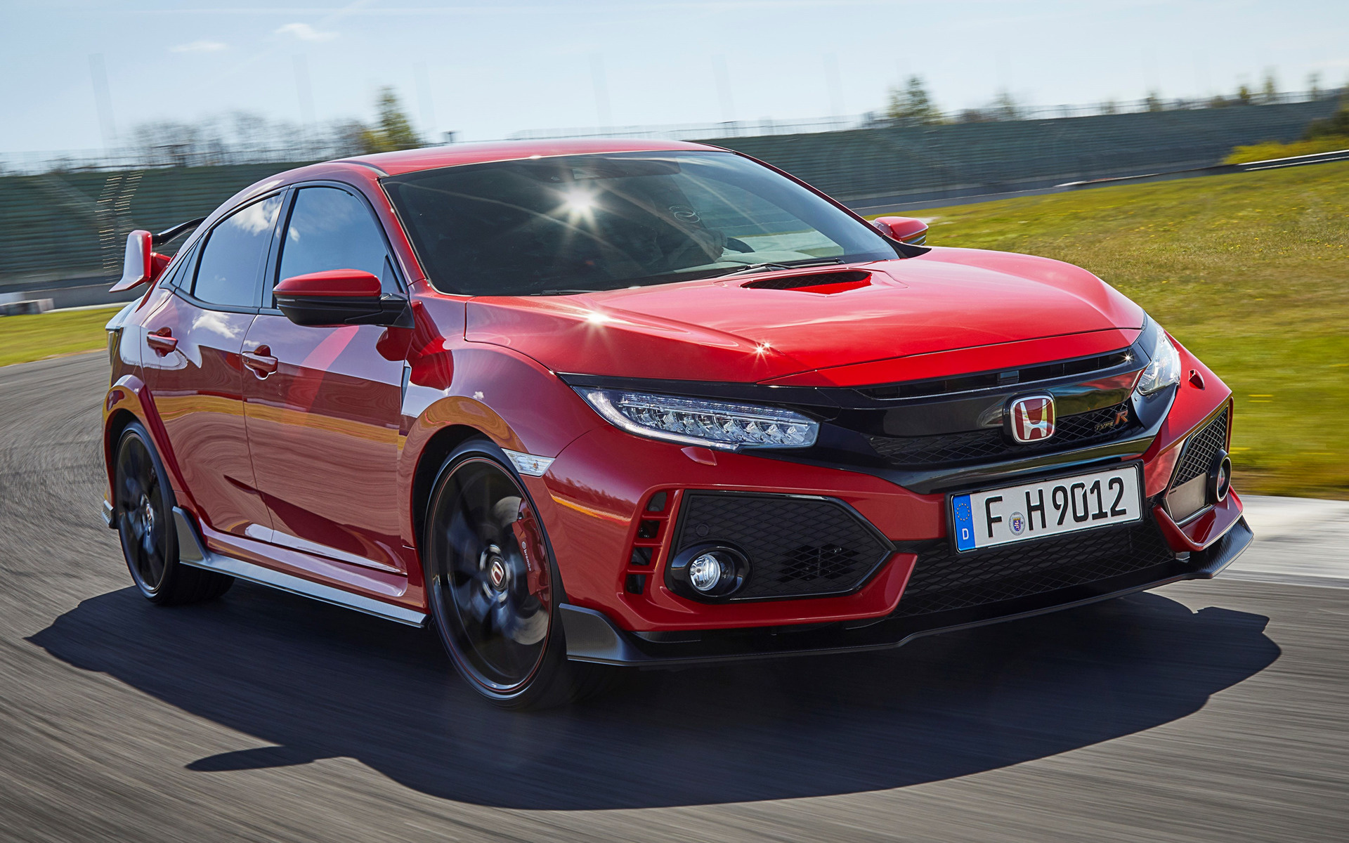 2017 Honda Civic Type R - Wallpapers and HD Images | Car Pixel