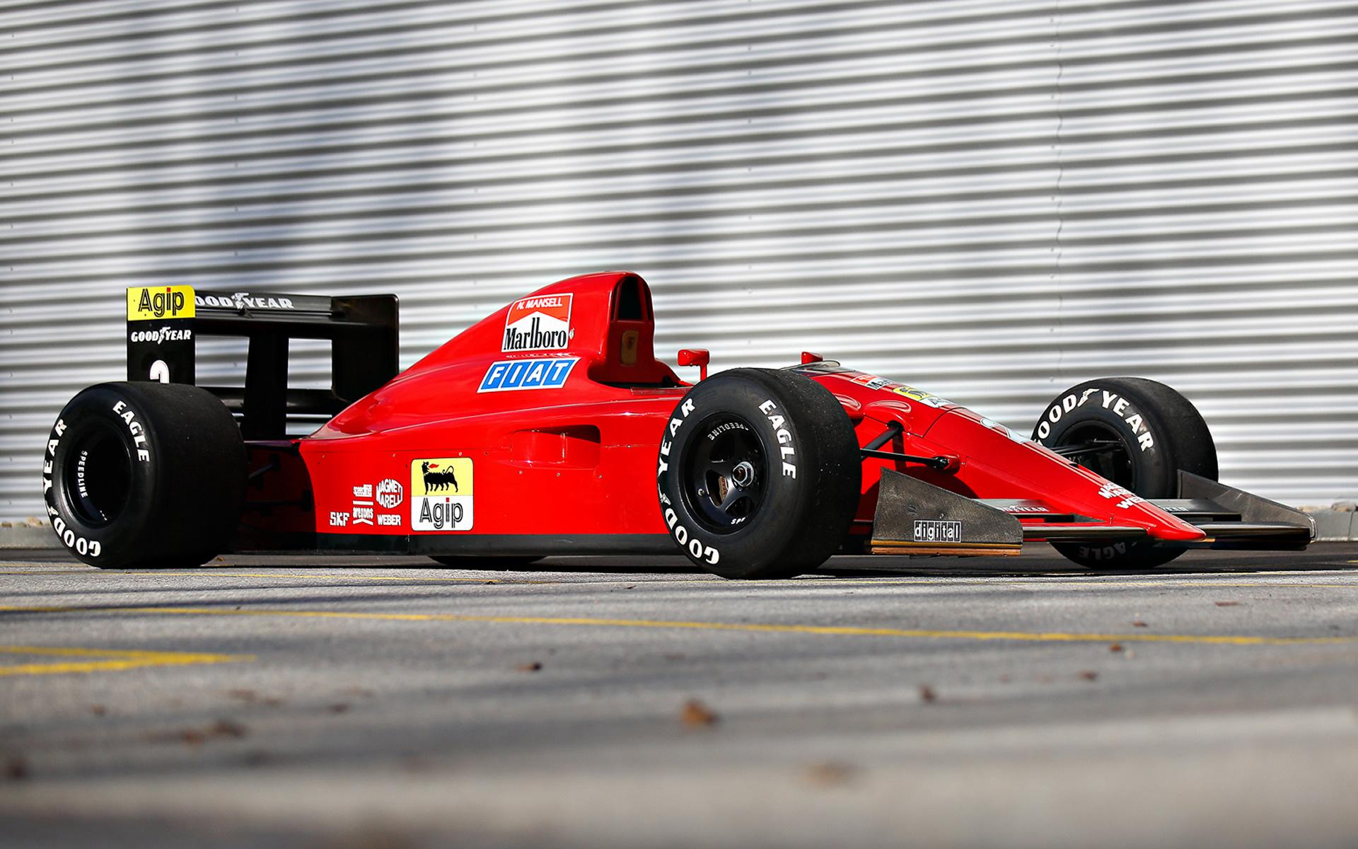 1990 Ferrari F1 90b Wallpapers And Hd Images Car Pixel