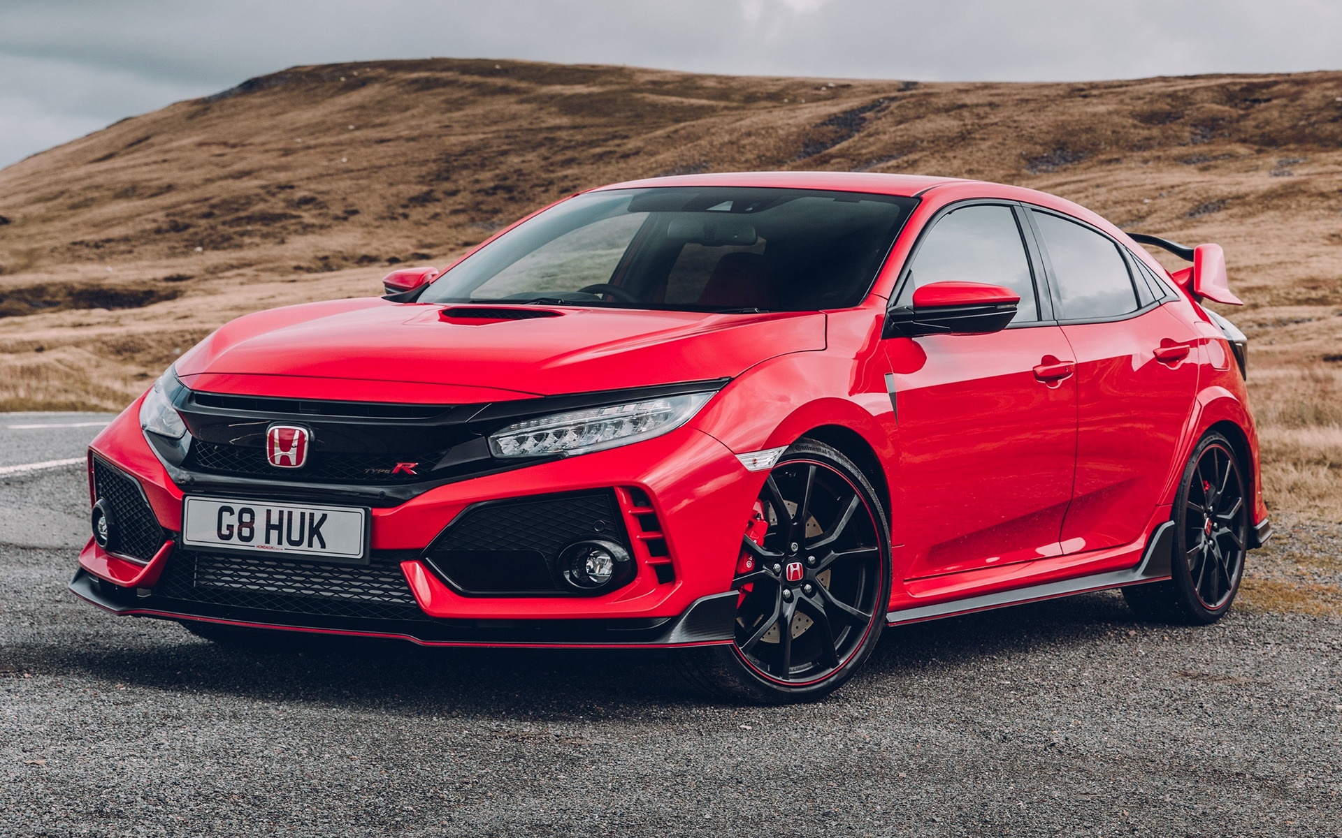 honda civic type r 2017 uk wallpapers and hd images car pixel. Black Bedroom Furniture Sets. Home Design Ideas