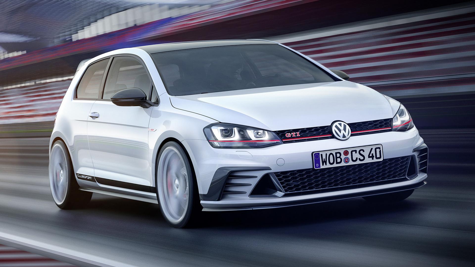 2015 Volkswagen Golf GTI Clubsport Concept - Wallpapers ...