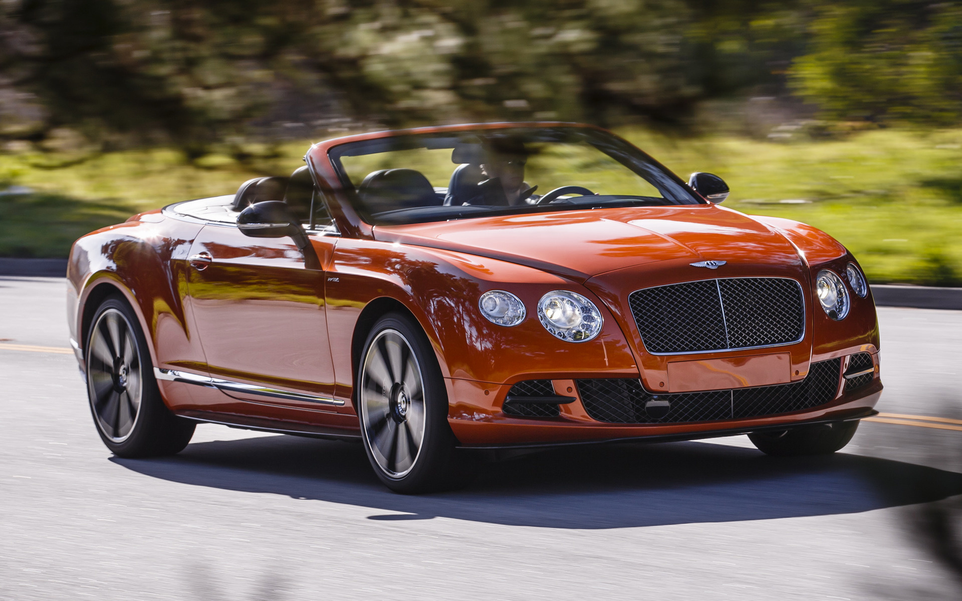 Bentley Continental GT Speed Convertible (2014) Wallpapers and HD ...