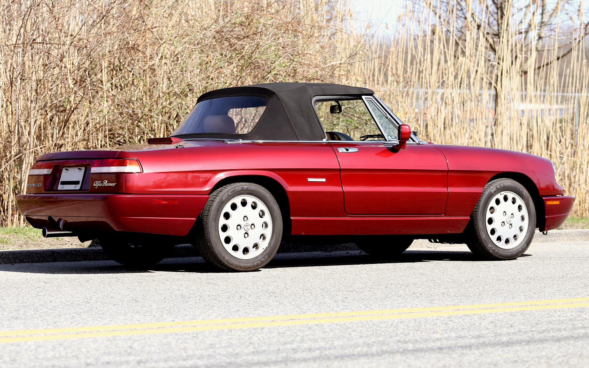alfa romeo spider veloce (1991) us wallpapers and hd images - car