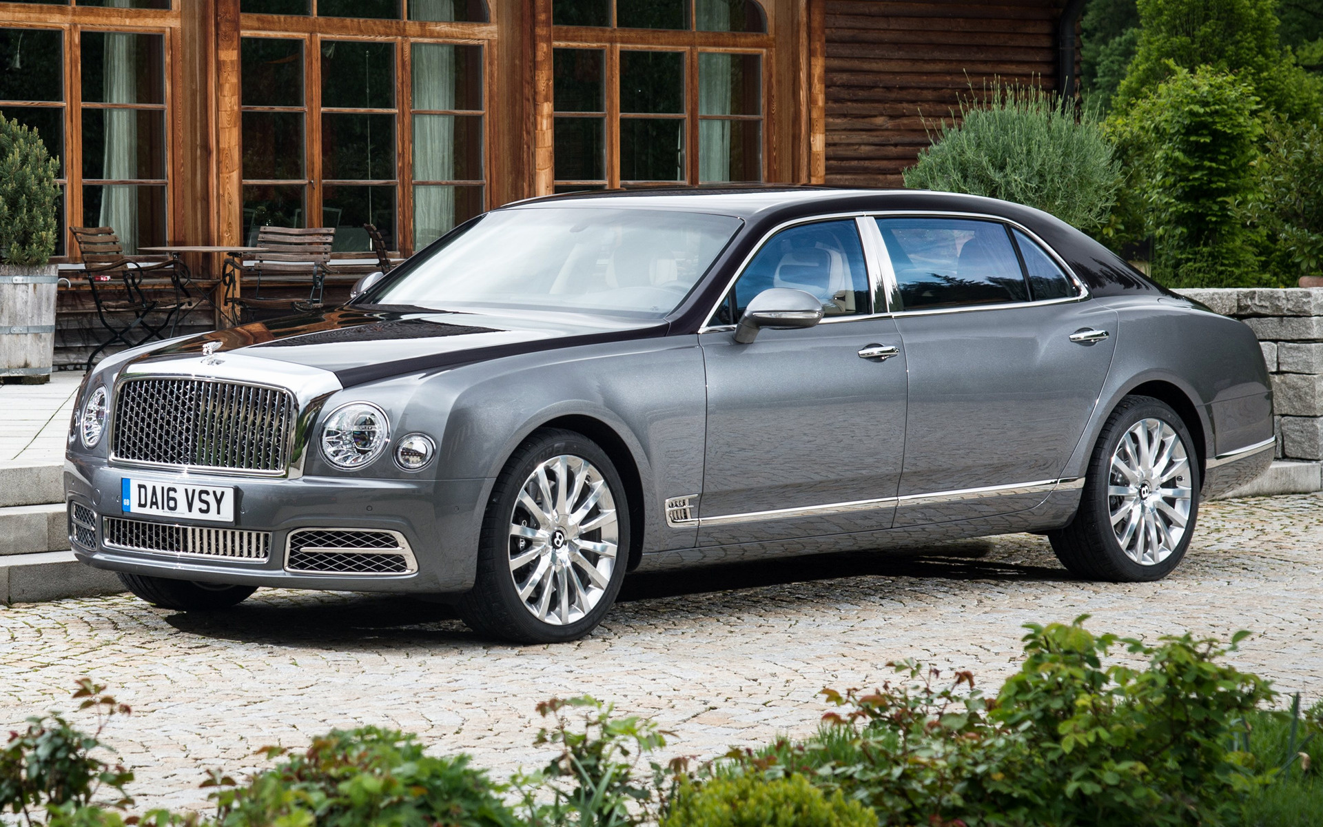 Bentley Mulsanne Extended Wheelbase 2016 Wallpapers And