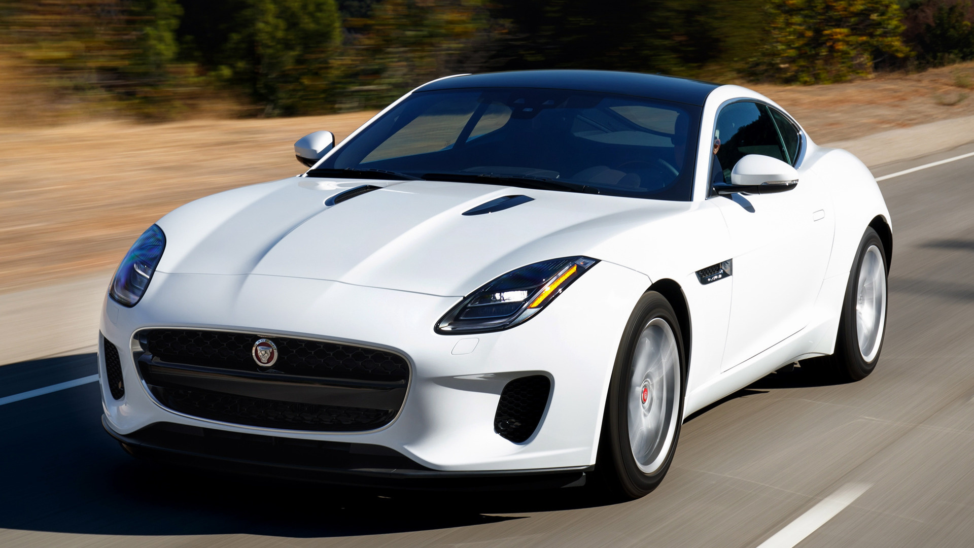 2018 jaguar f type coupe us wallpapers and hd images. Black Bedroom Furniture Sets. Home Design Ideas