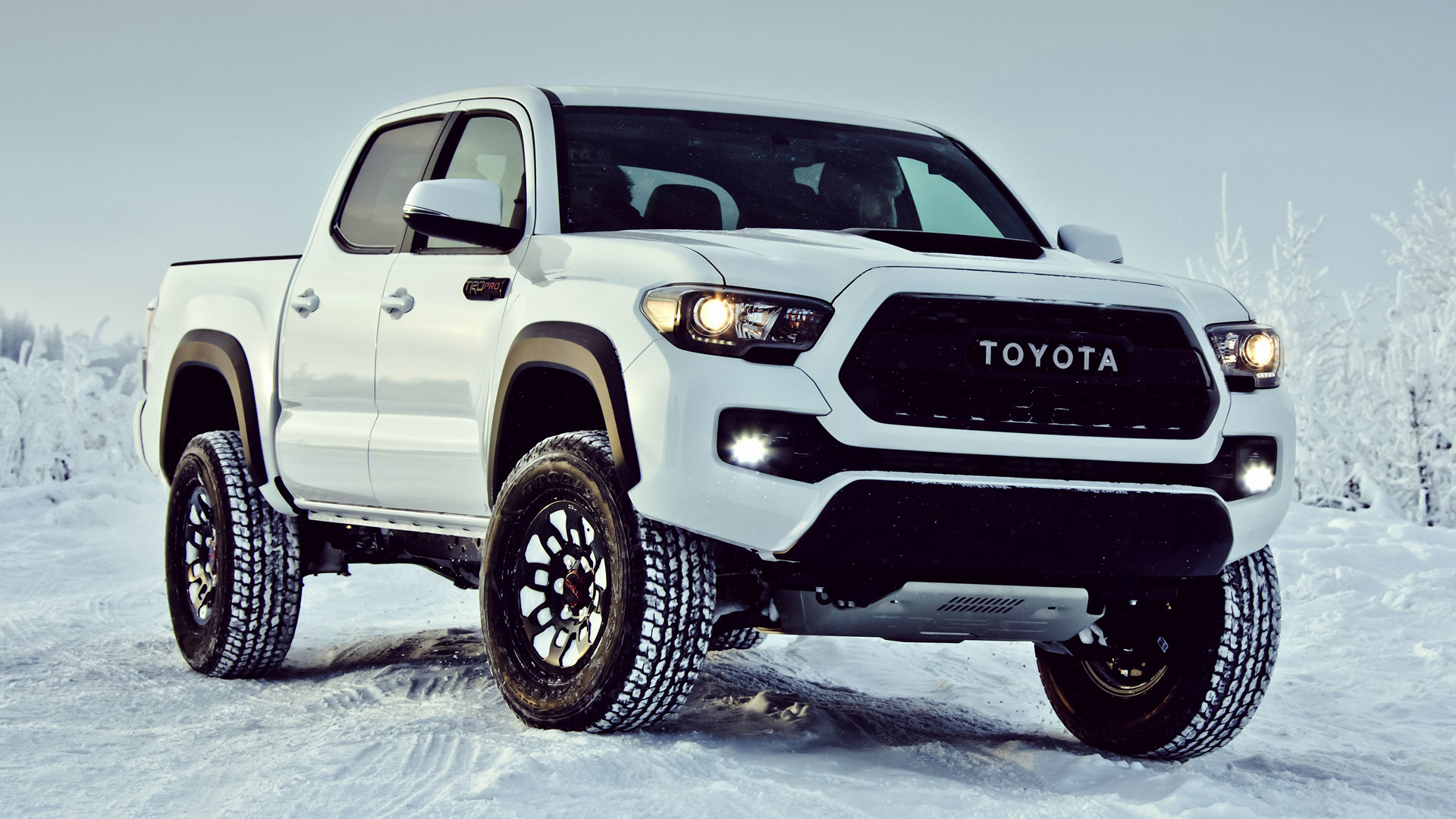 2017 Toyota Tacoma TRD Pro Double Cab - Wallpapers and HD ...