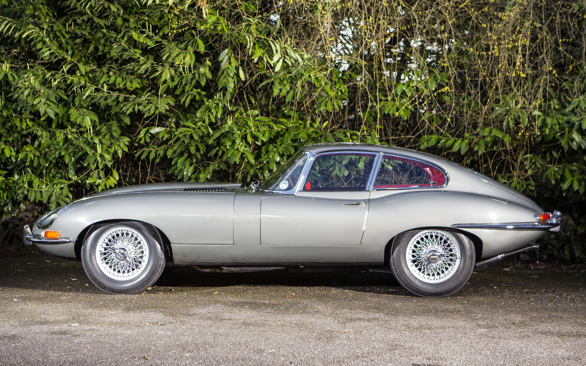 1961 Jaguar E Type Fixed Head Coupe Uk Wallpapers And