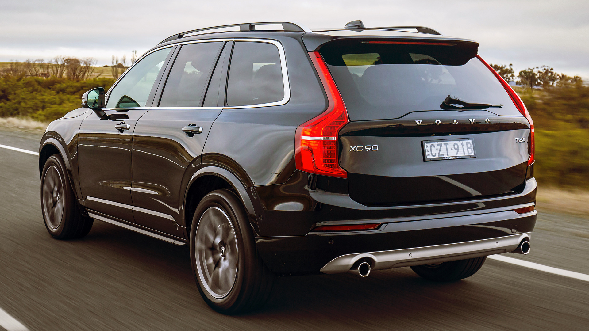 Volvo XC90 Momentum 2015 AU Wallpapers and HD
